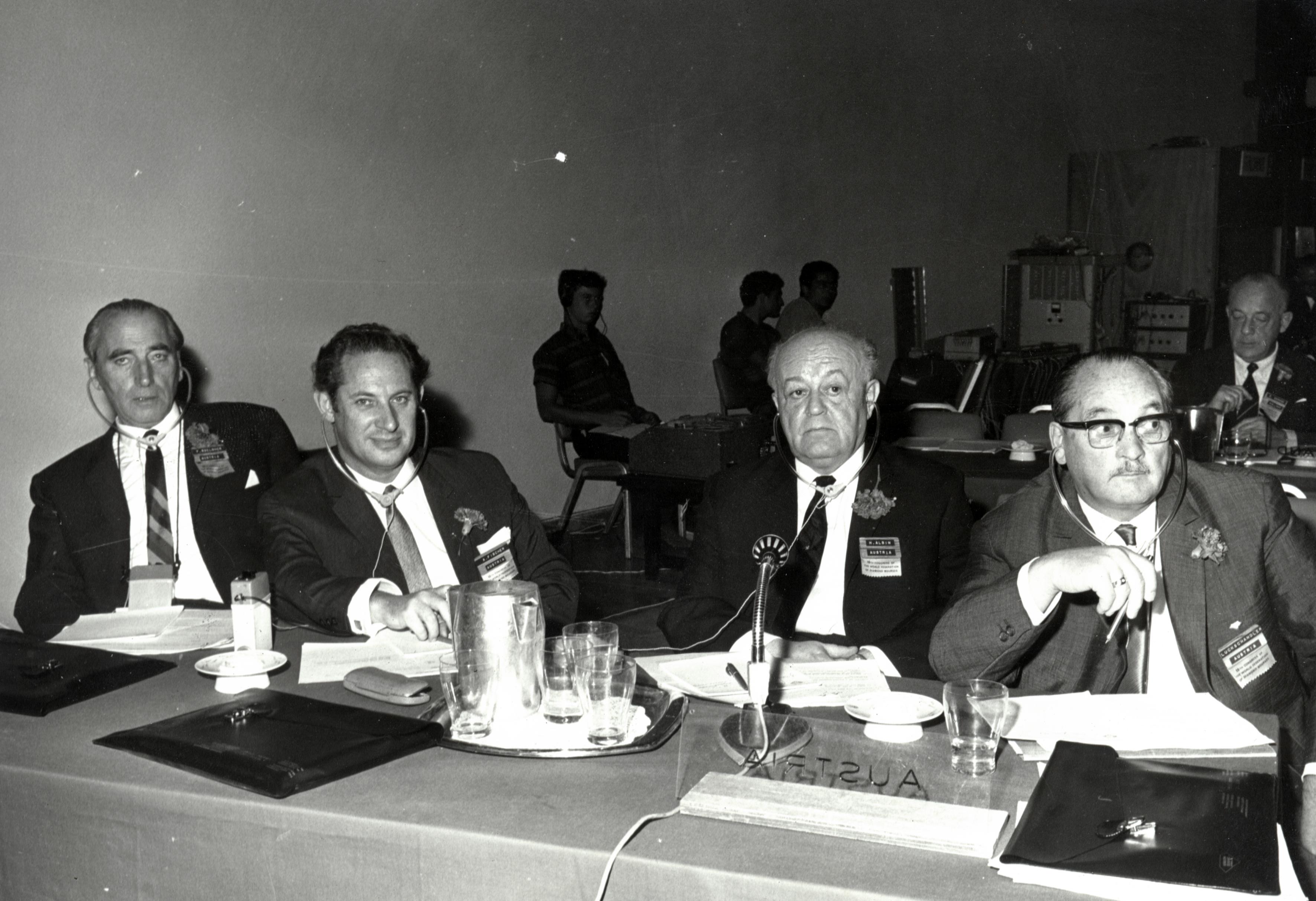Anton Fischer auf dem 1. Diamantenkongress in Israel