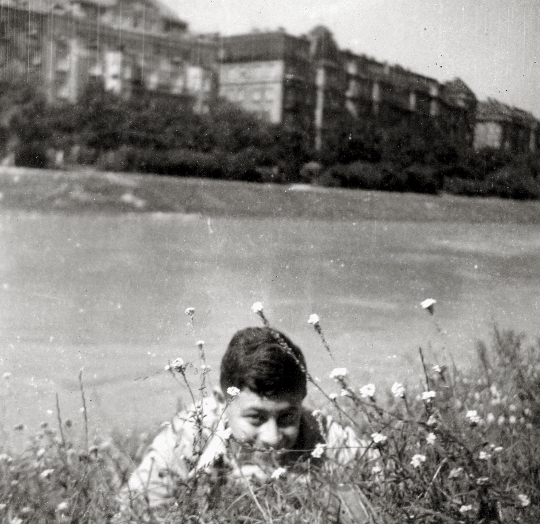 Friedrich Maximilian am Donaukanal in Wien