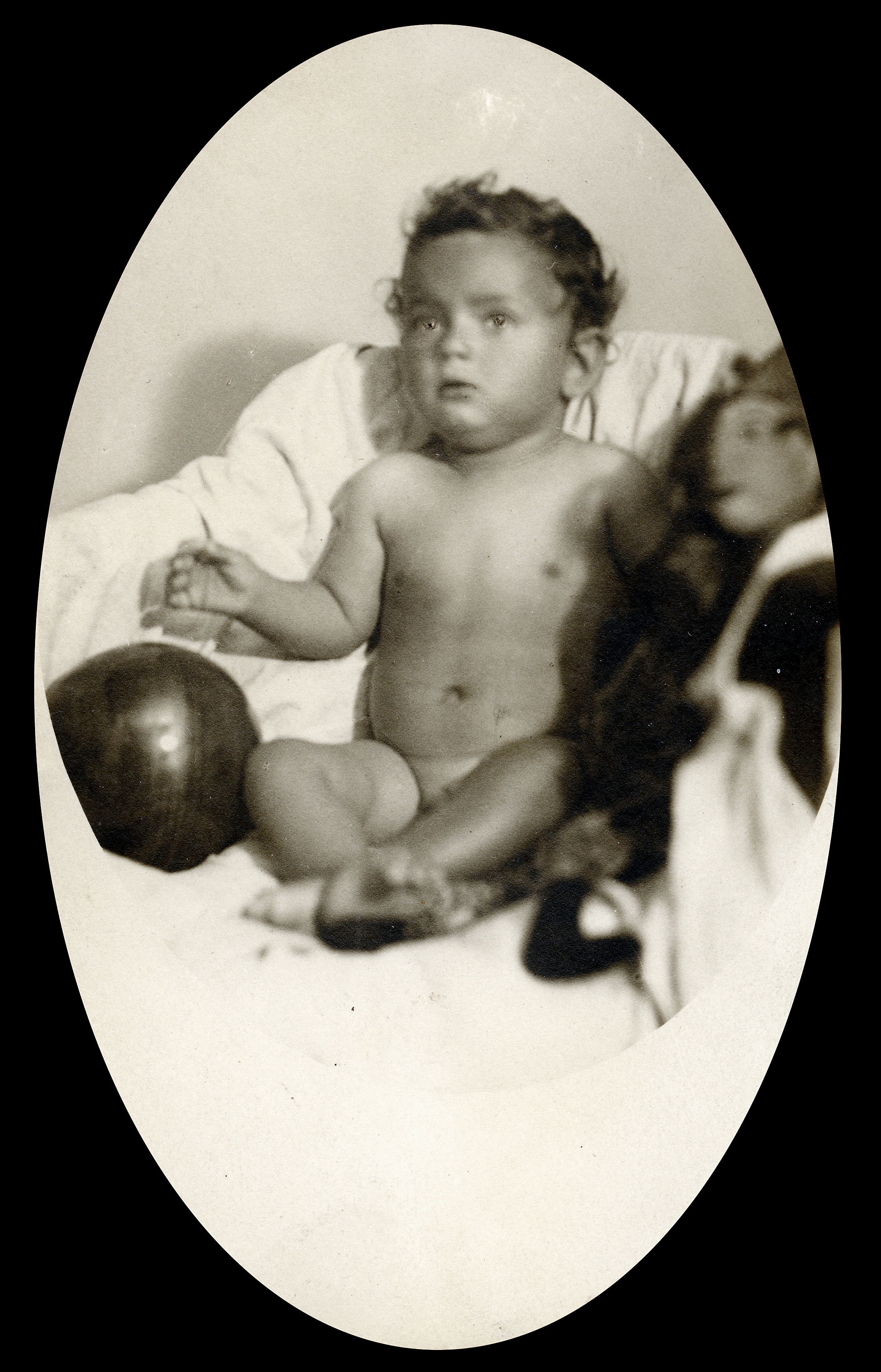 Erwin Landau als Kleinkind in Wien