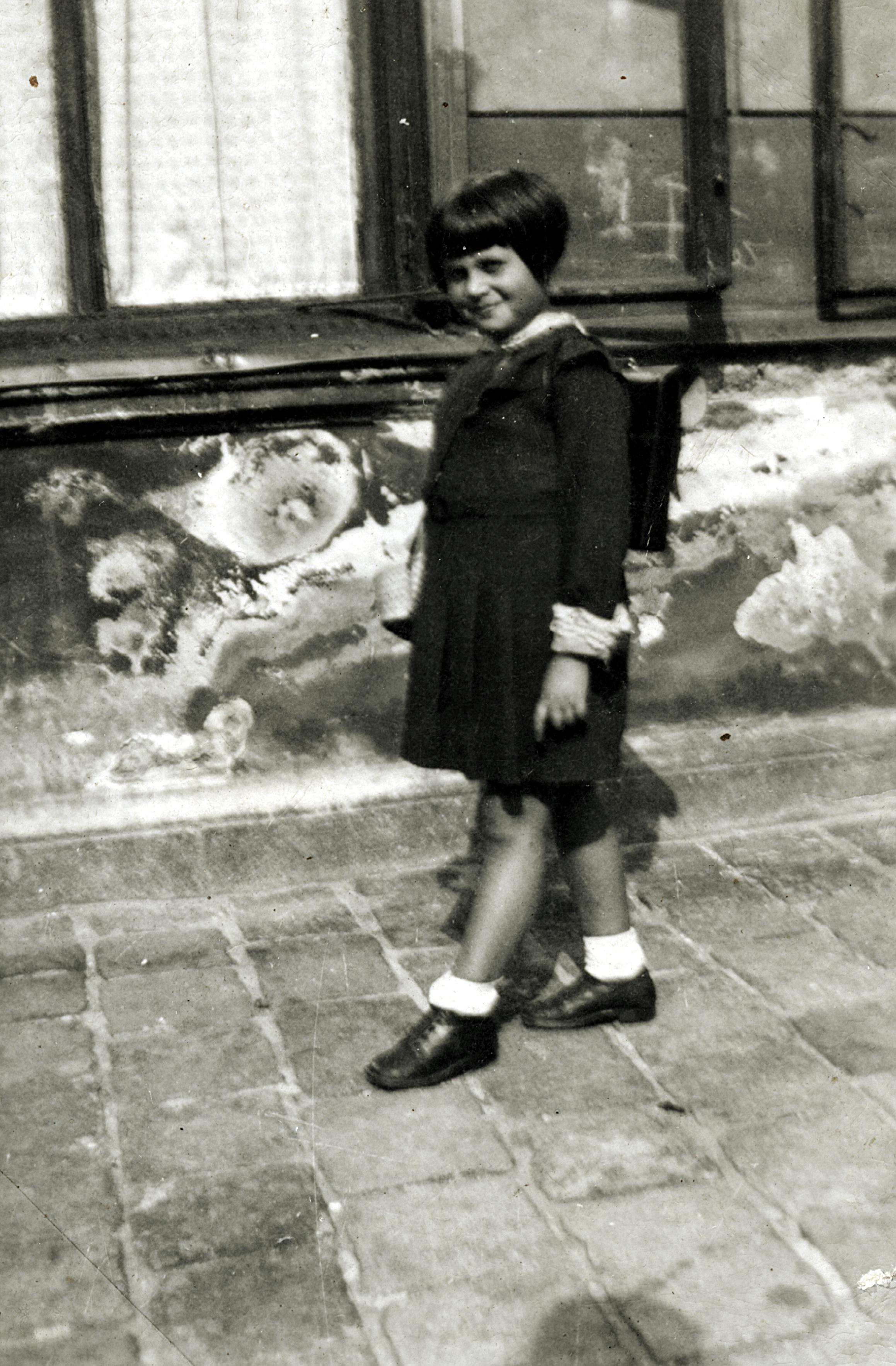 Erika Rosenkranz´s erster Schultag in Wien