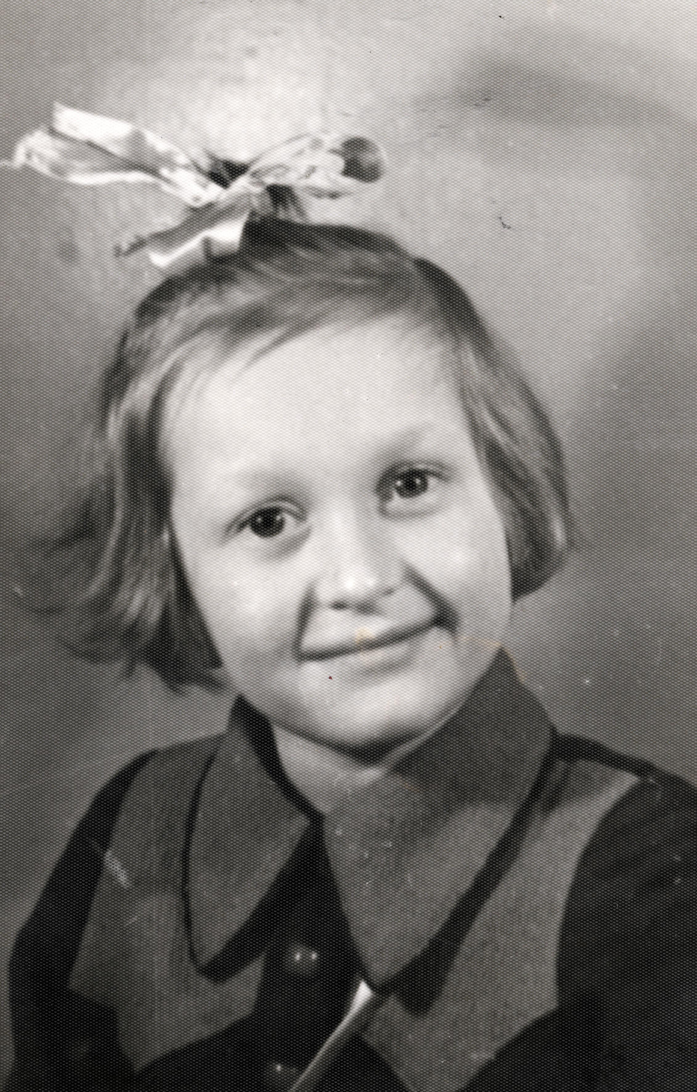 Franziska Smolka als Kindergartenkind in Moskau