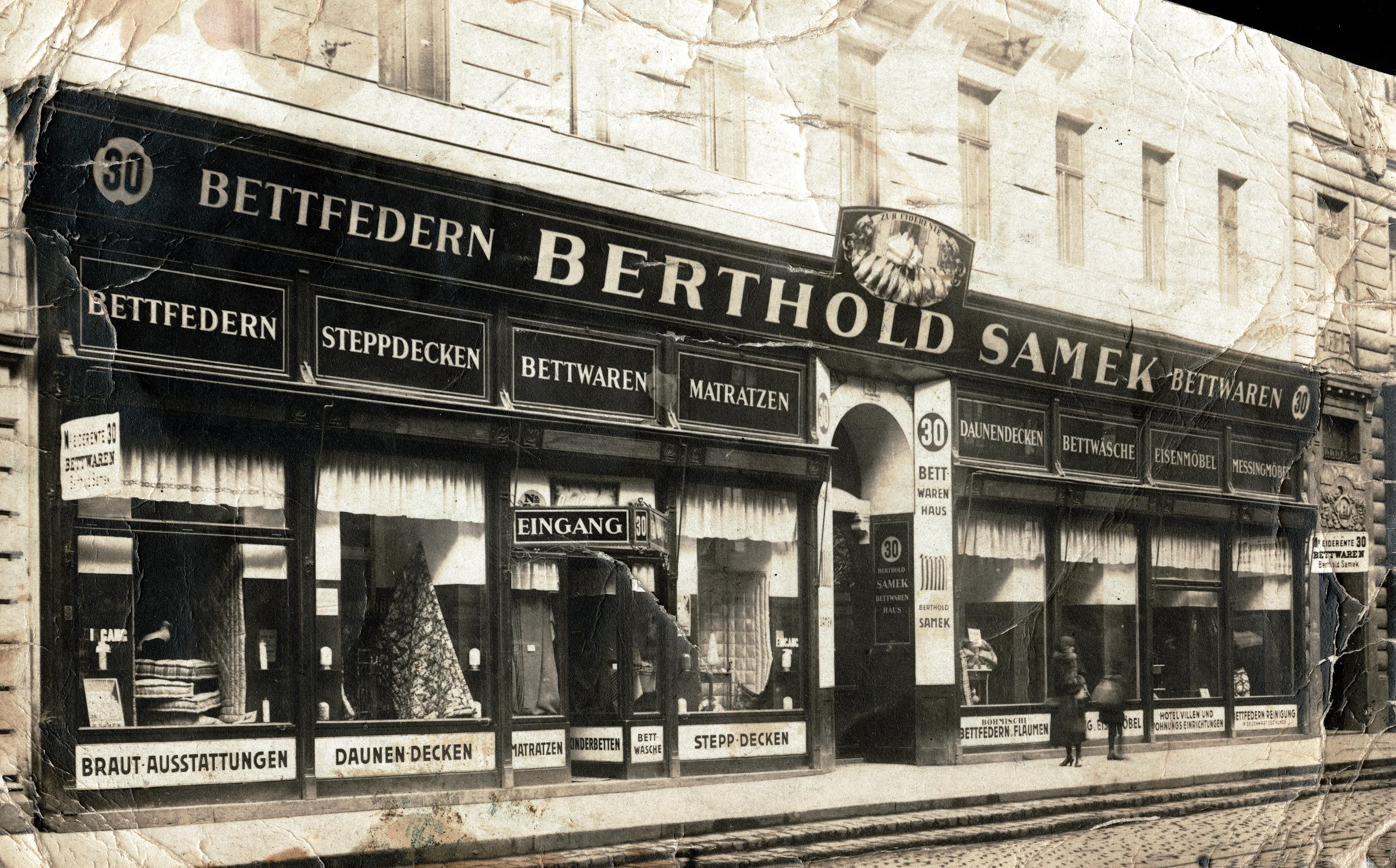 Das Geschäft in Wien von Gertrude Mechners Eltern