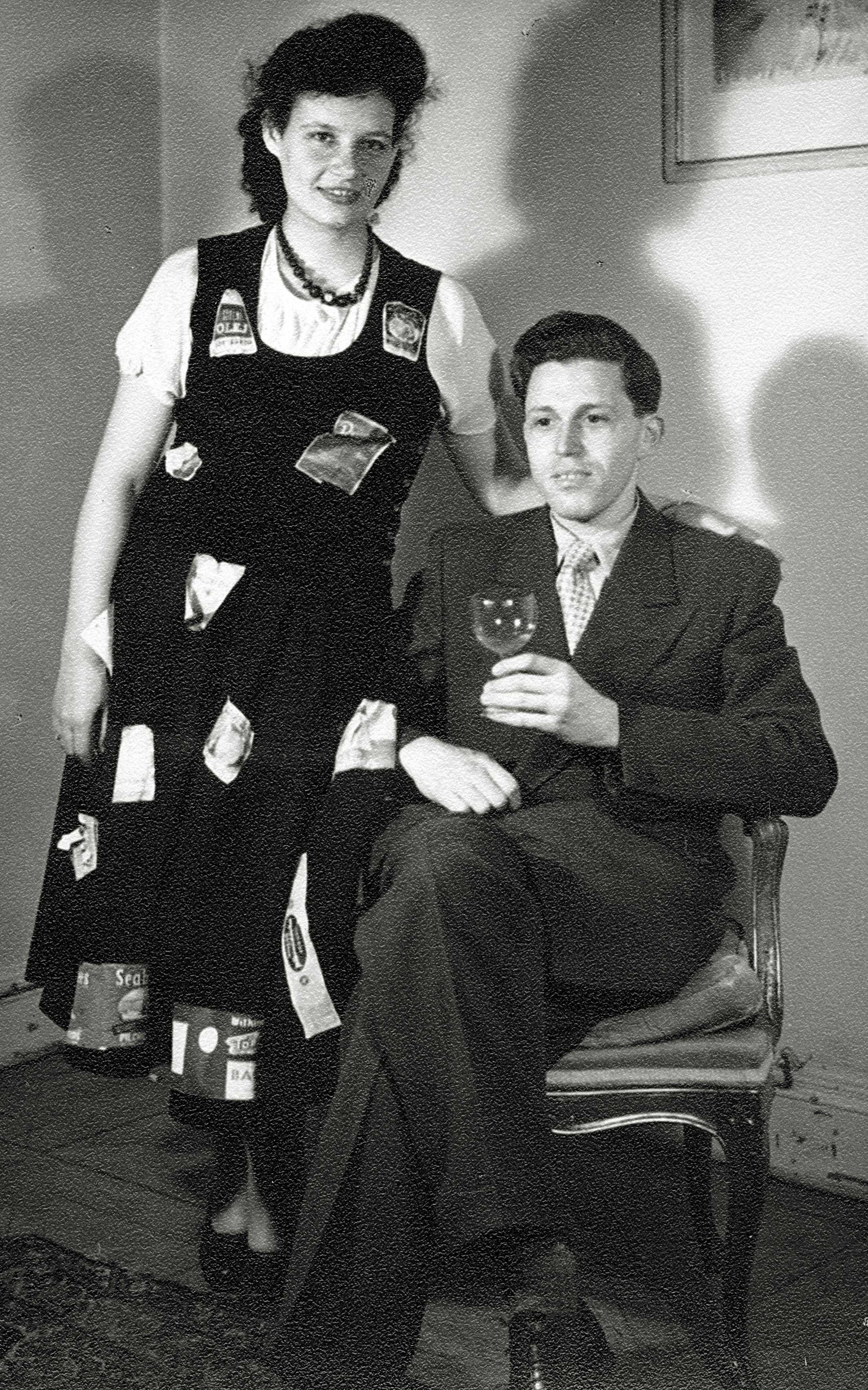 Jindrich und Hannah Lion