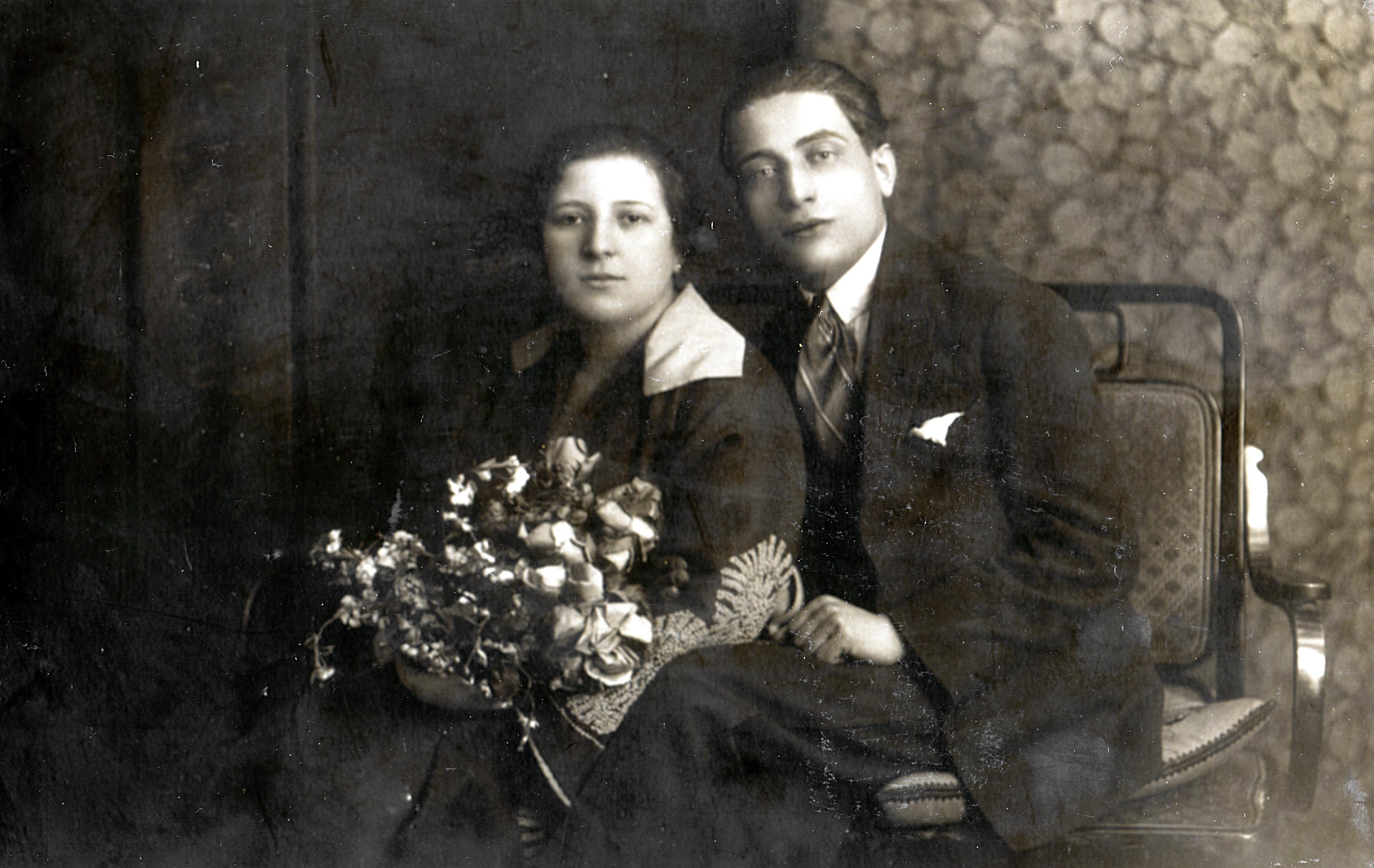 Verlobungsfoto von Michael und Mircia Rosenkranz