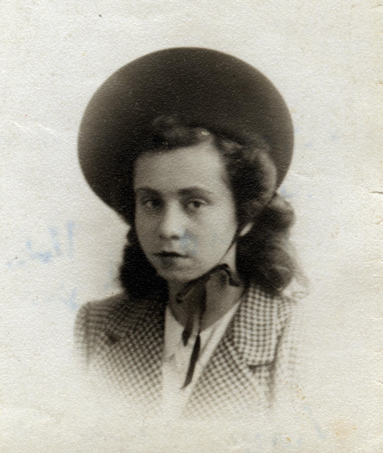 Kitty Suschny vor ihrer Emigration nach England im Jahre 1938
