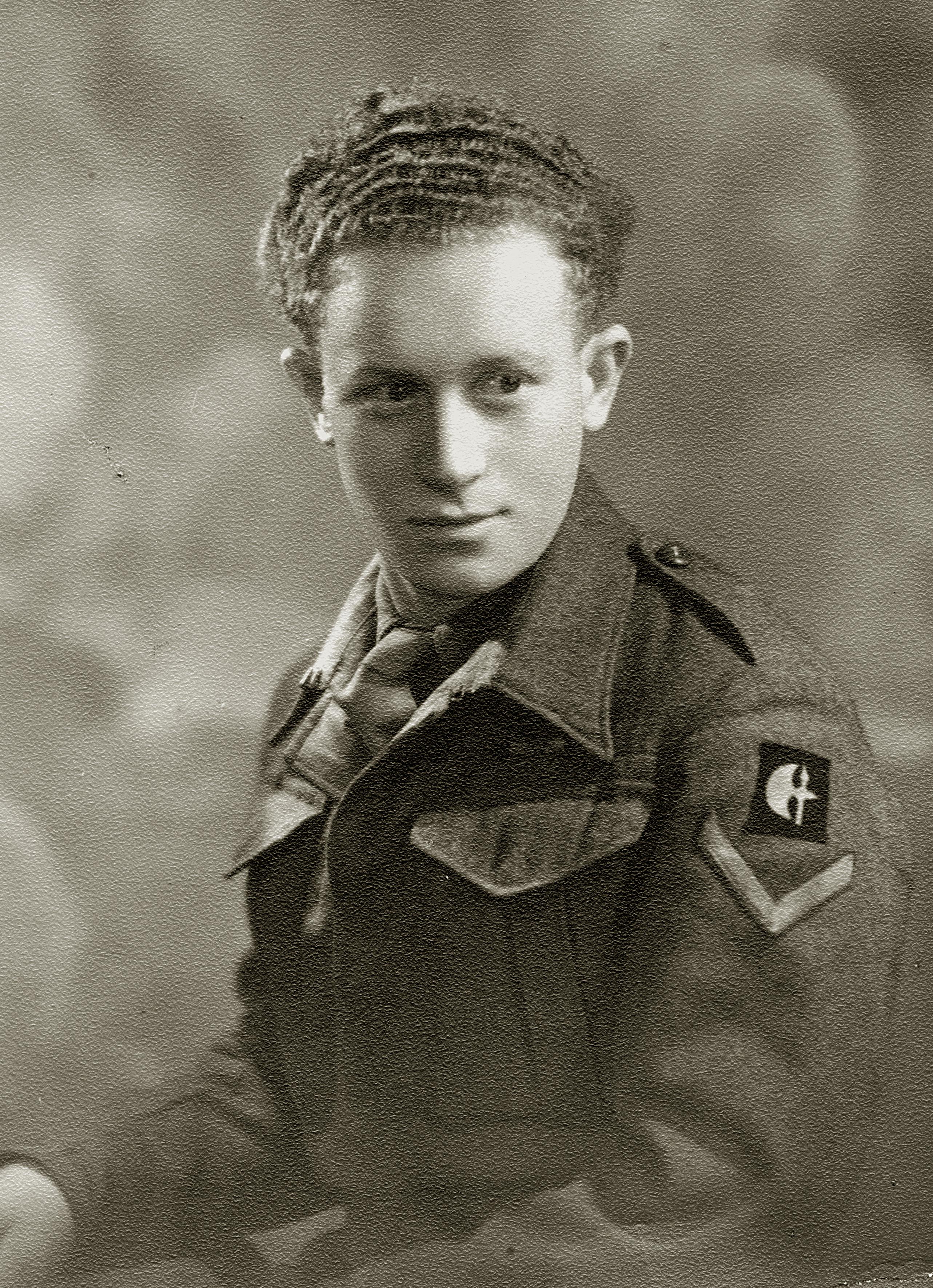 Dr. Otto Suschny als englischer Soldat in Italien
