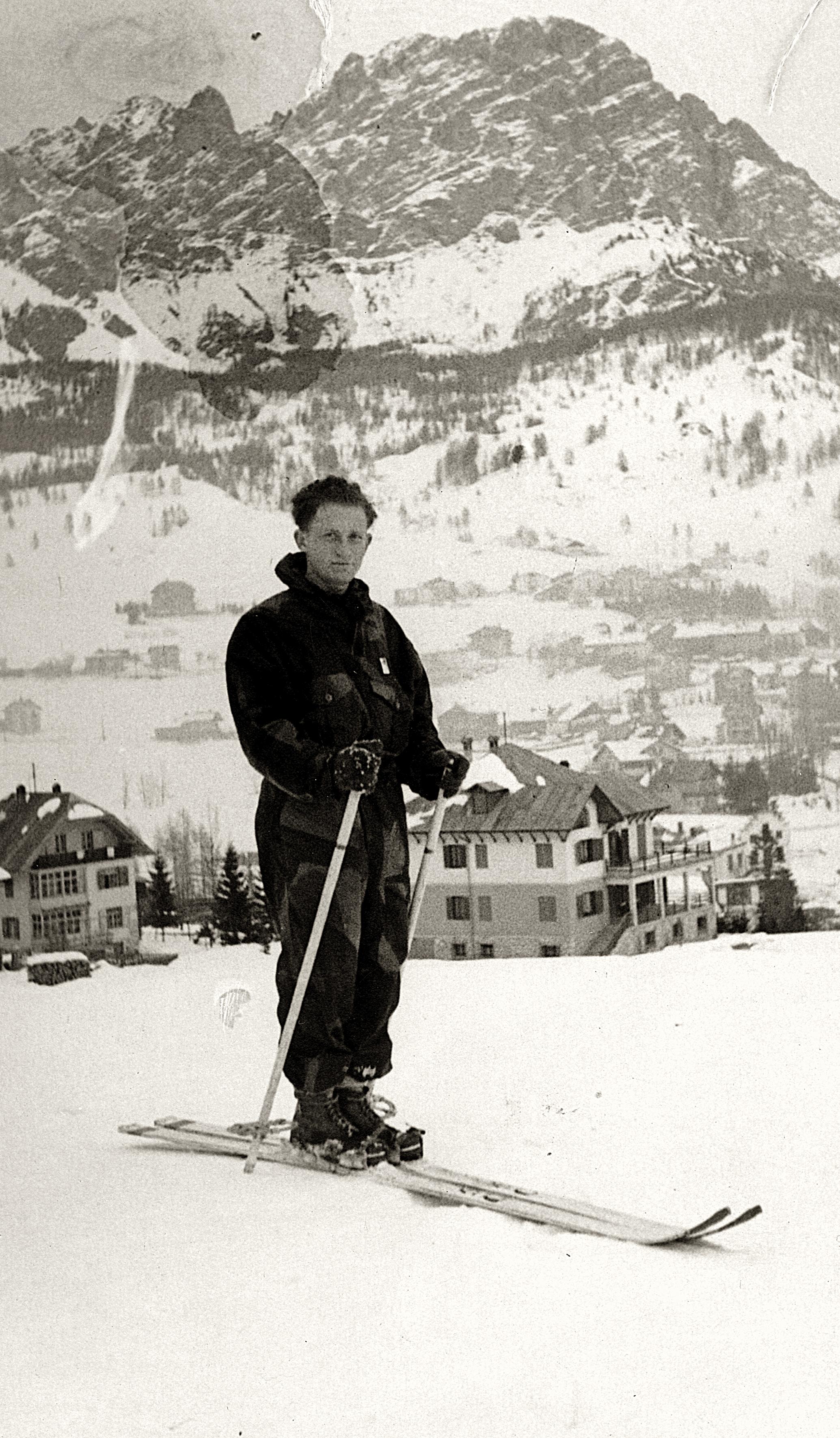 Dr. Otto Suschny in Cortina d'Ampezzo