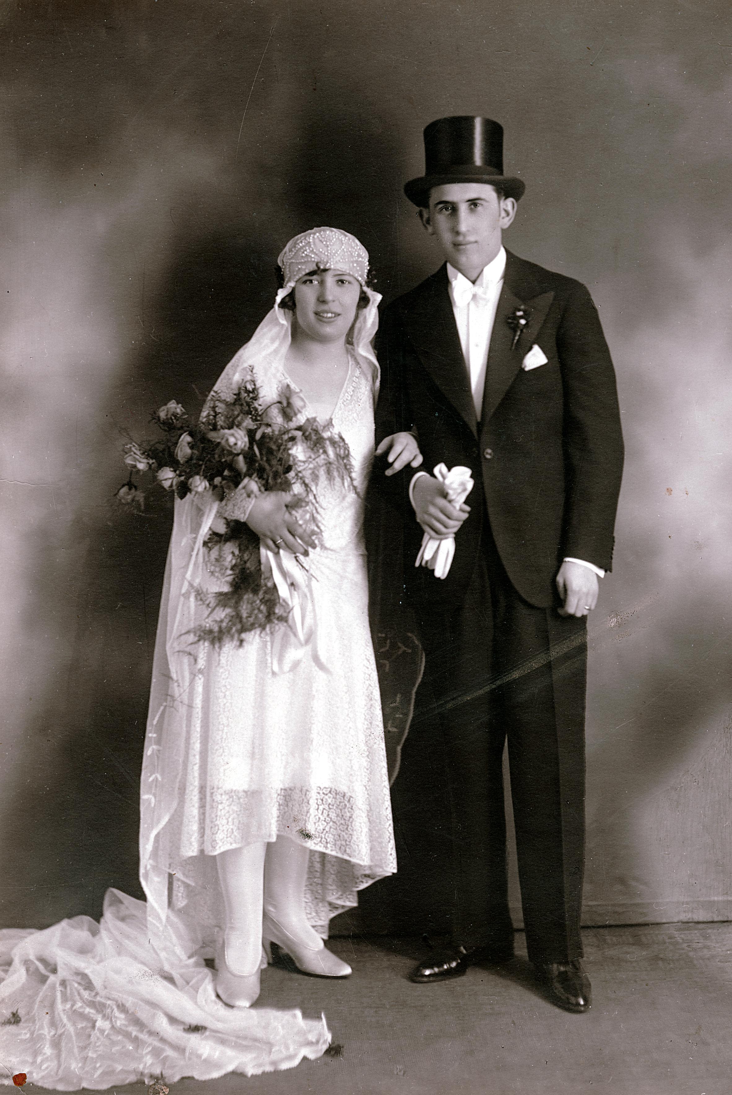 Hochzeitfoto von Rosa Rosenstein und Maximilian Weisz