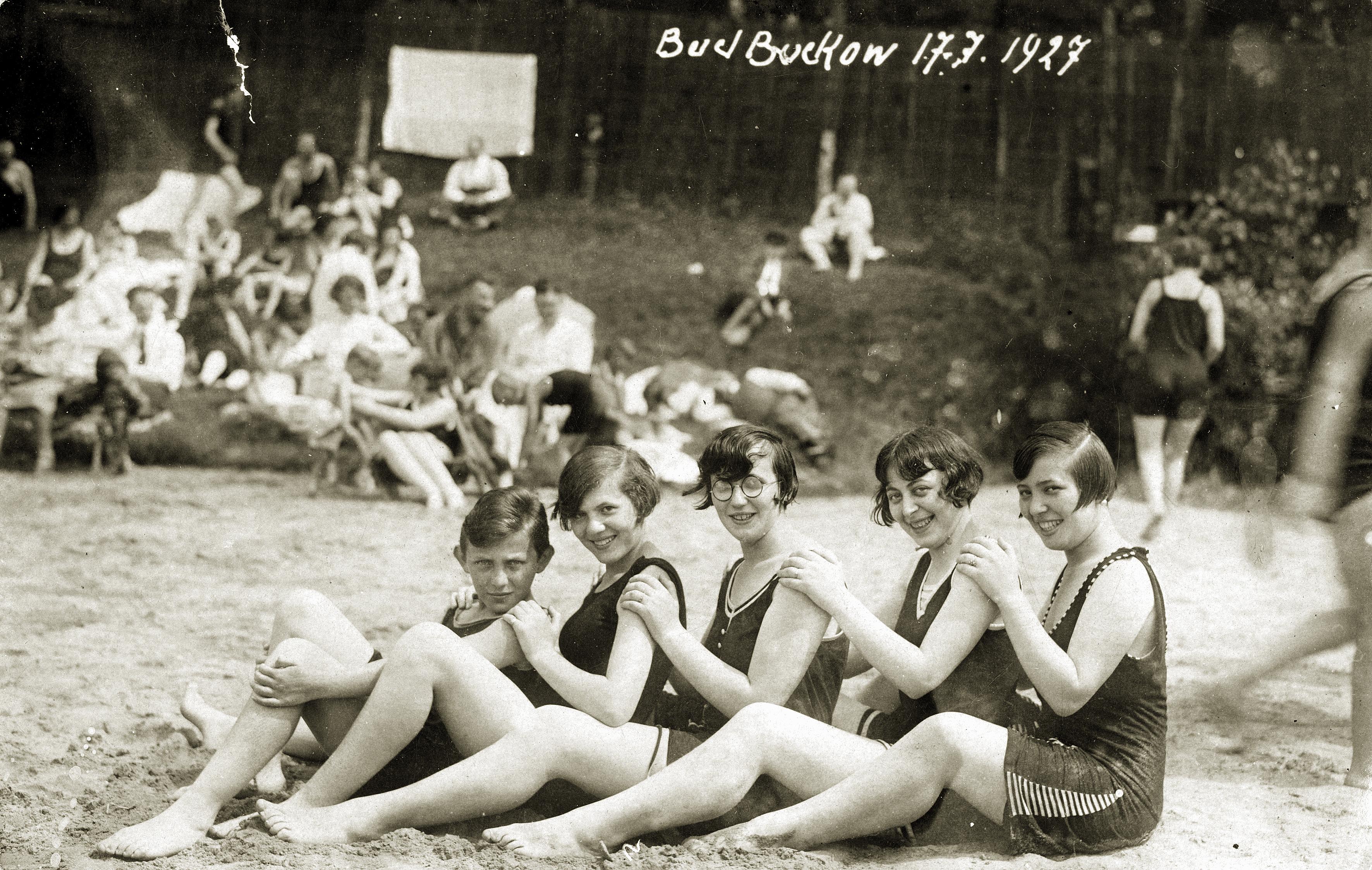 Rosa Rosenstein und ihre Geschwister in Bad Buckow