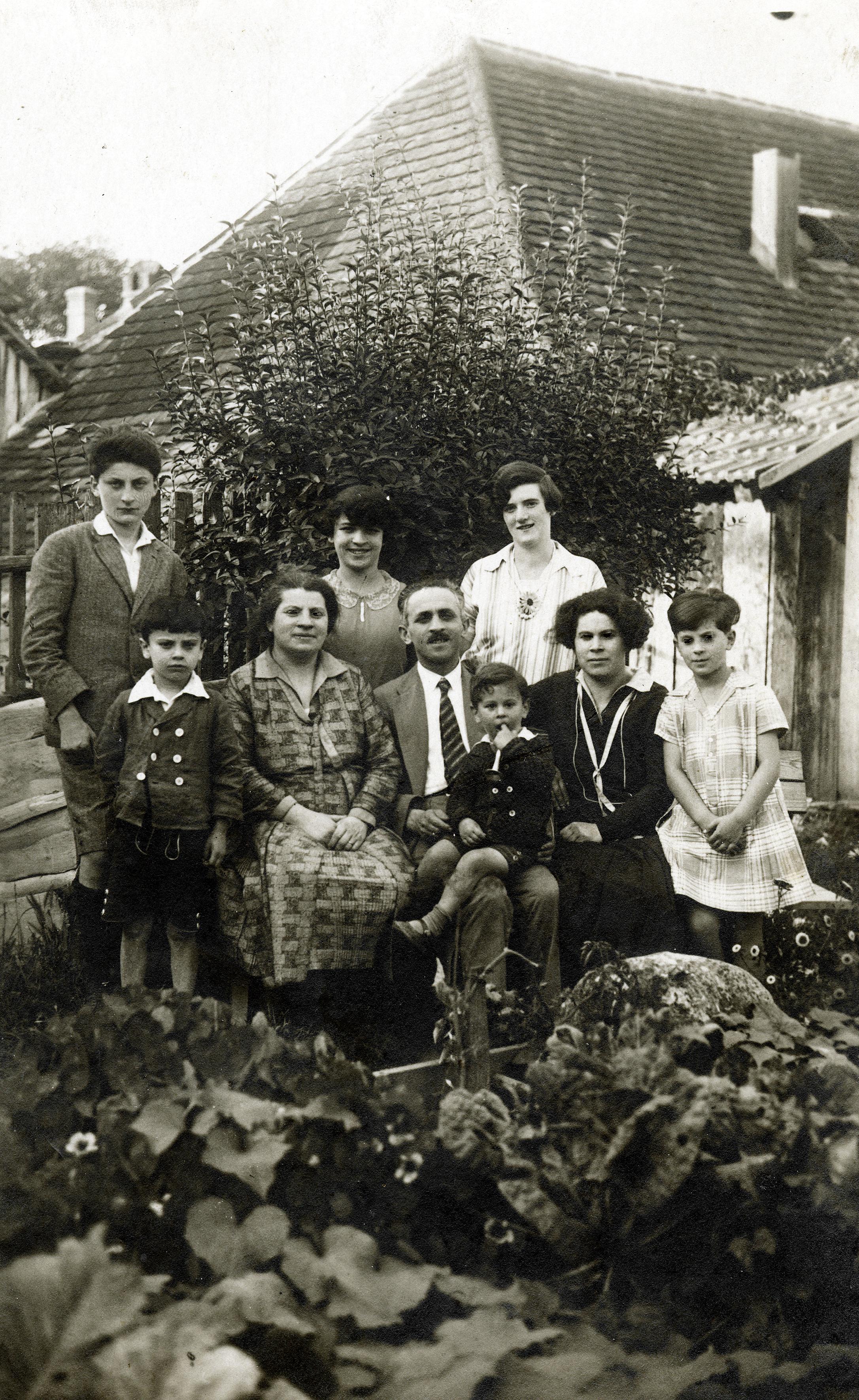 Dr. Robert Rosners Familie in Kärnten