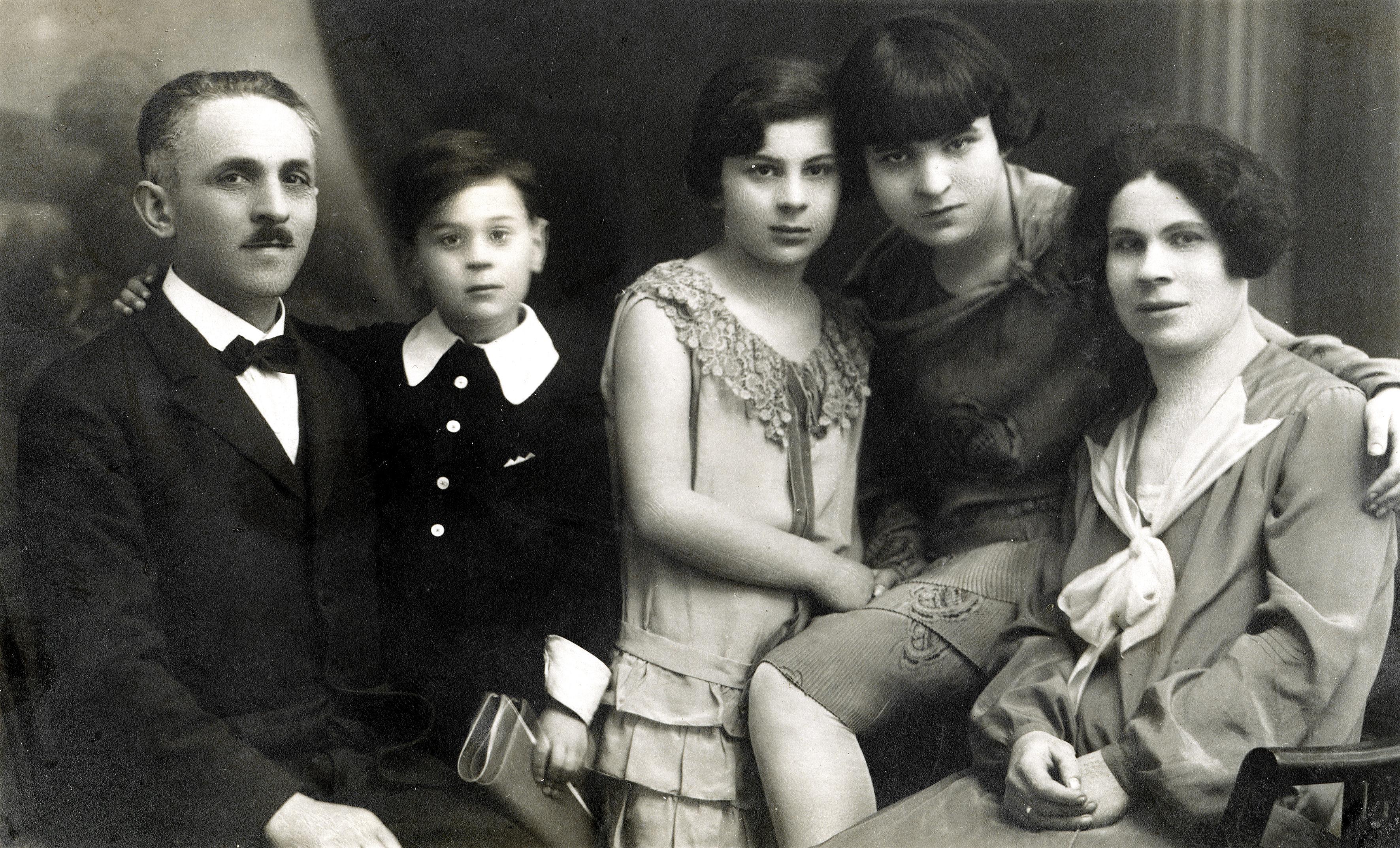 Dr. Robert Walter Rosners Eltern und Schwestern
