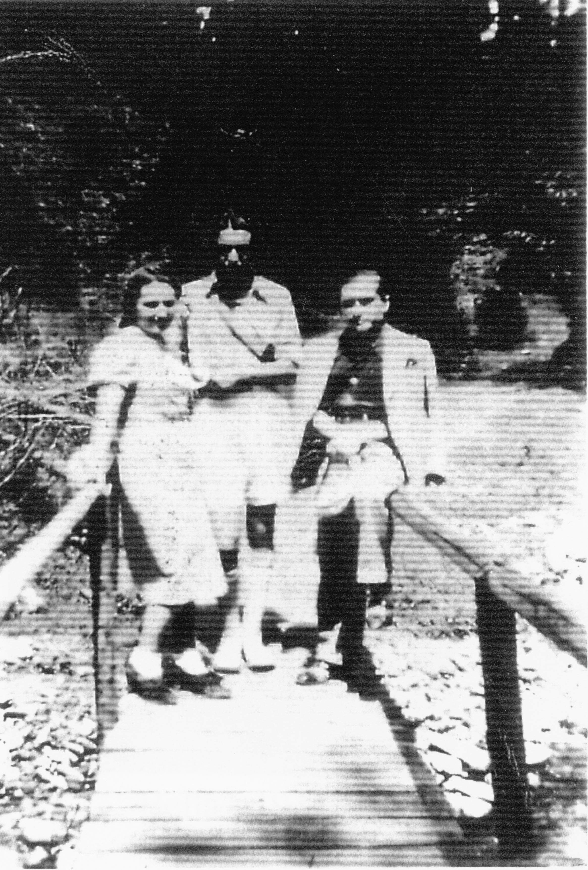 Joseph Schmidt und Buby Schieber in Kimpolung