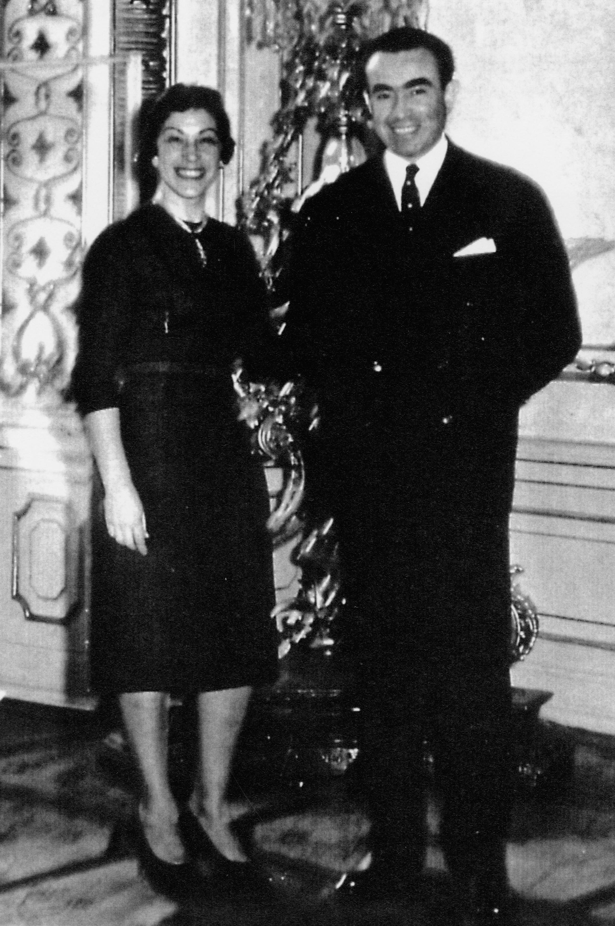 Buby Schieber und seine Frau Mariana