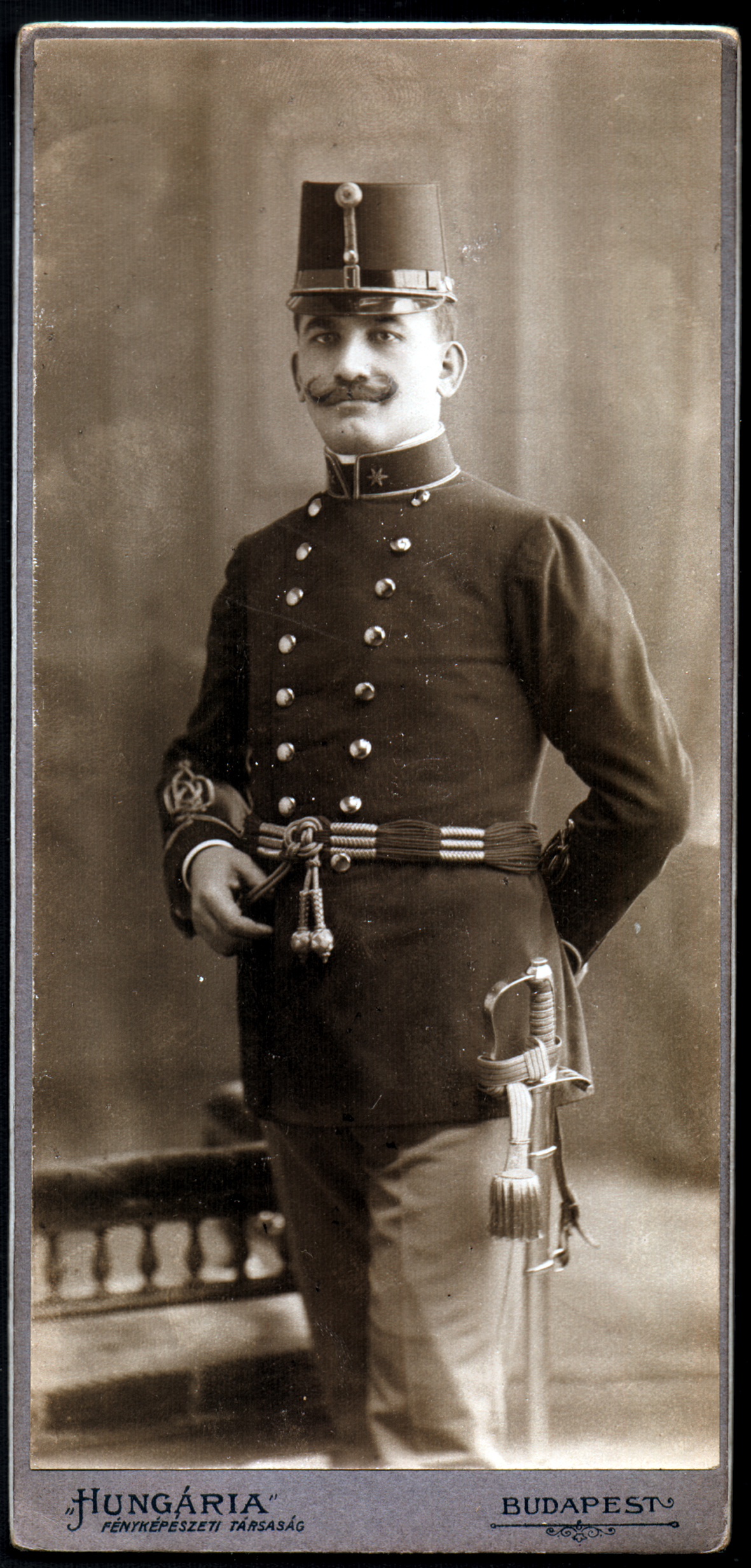 Kati Andai's father Lajos Erdos as a soldier during WWI