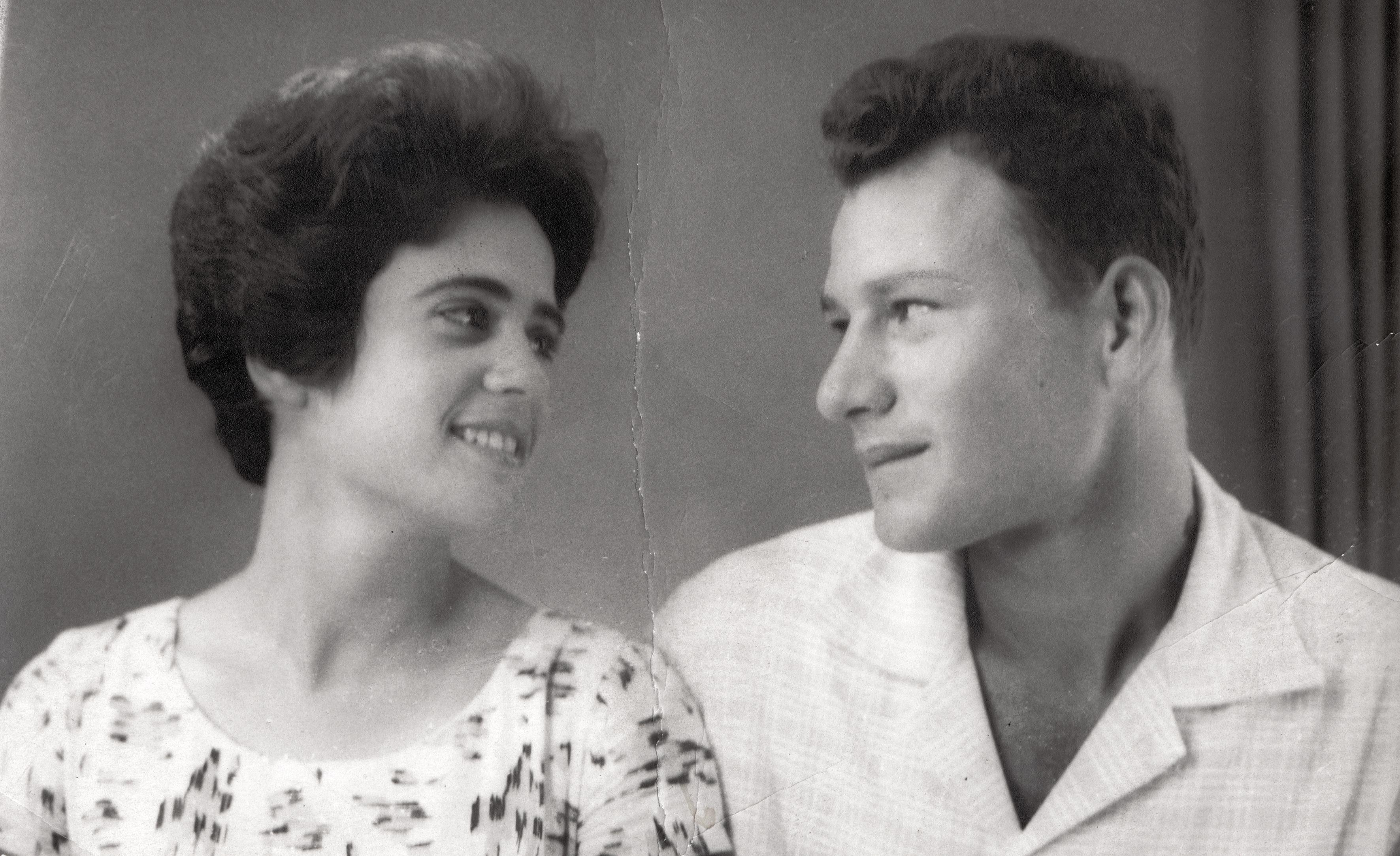 Oro Aroyo with her husband Dan