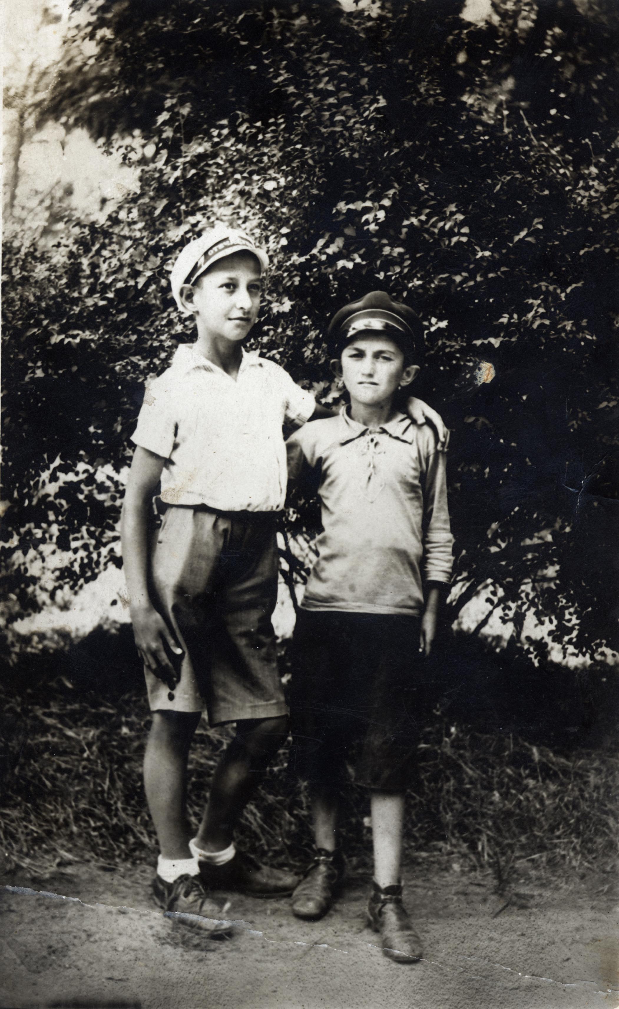 Leon Anzhel with Vulchan Vulchanov