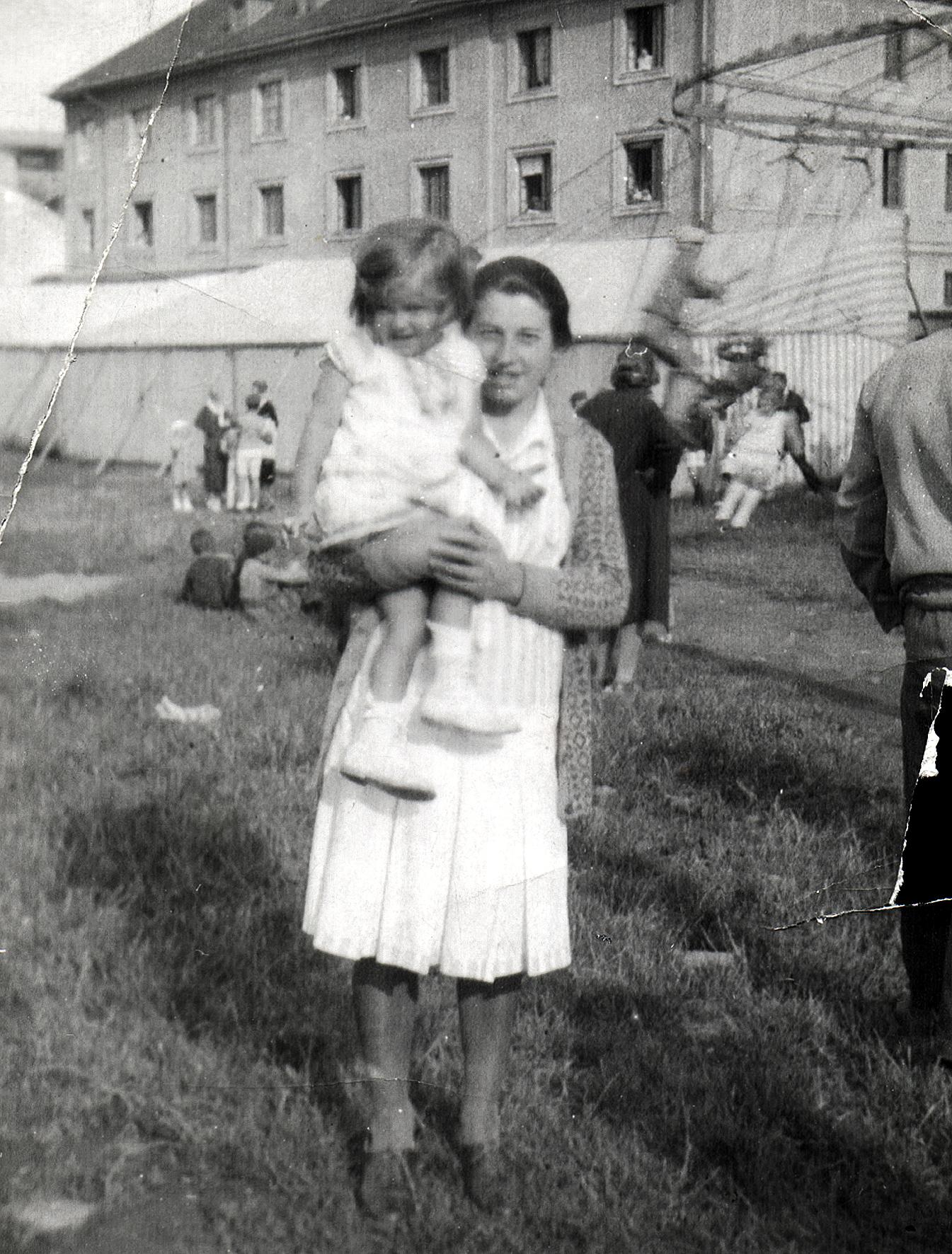 Maria Feheri with servant Boris