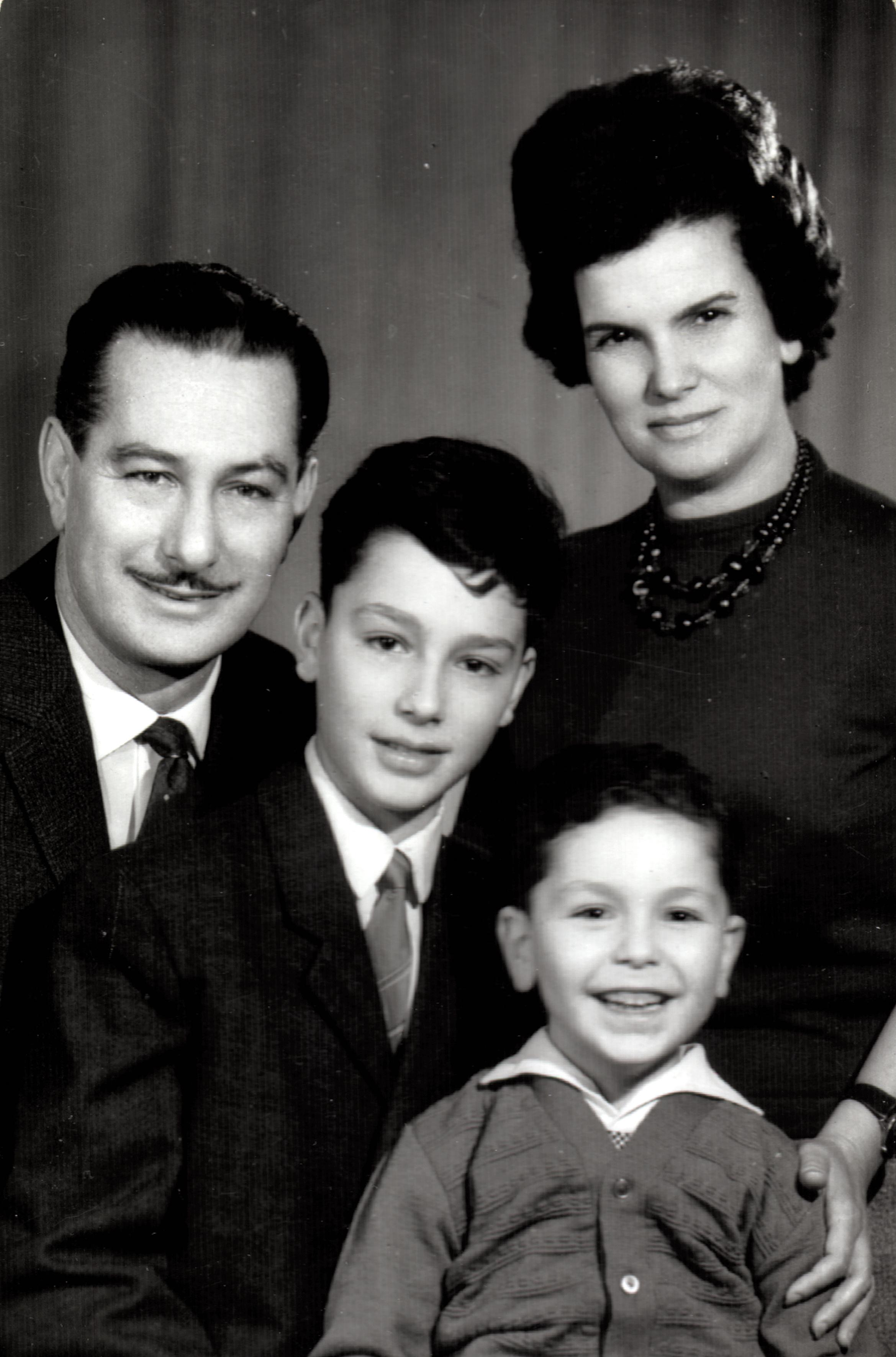 Braun Miklós családja