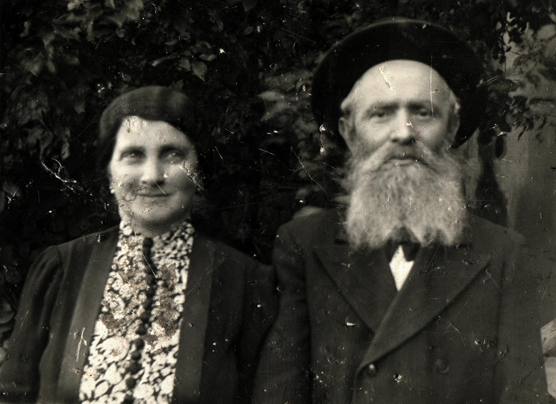 Stern Márton és felesége