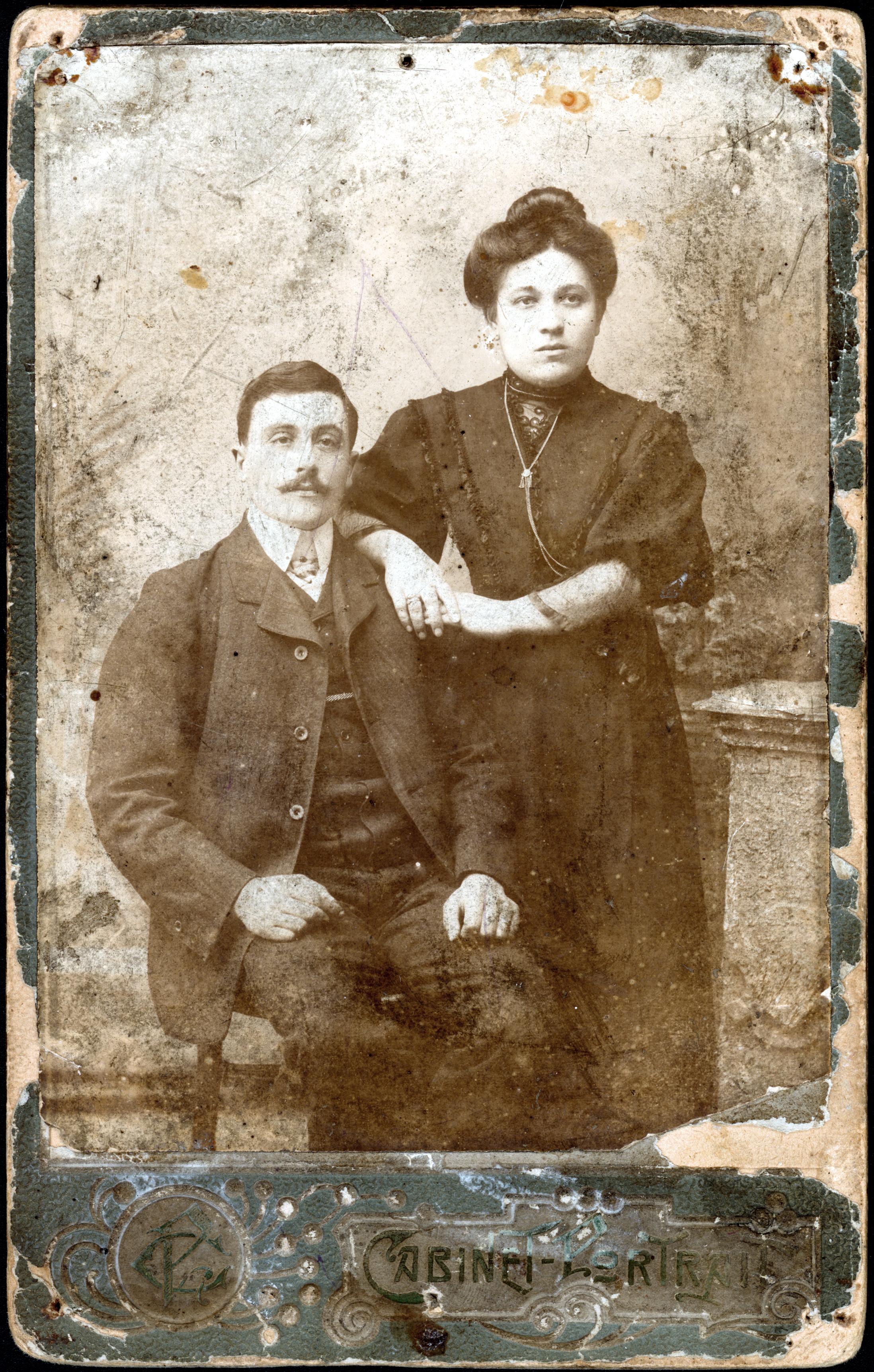 Borukh Ilyich Livshits and Fanya Lvovna Livshits