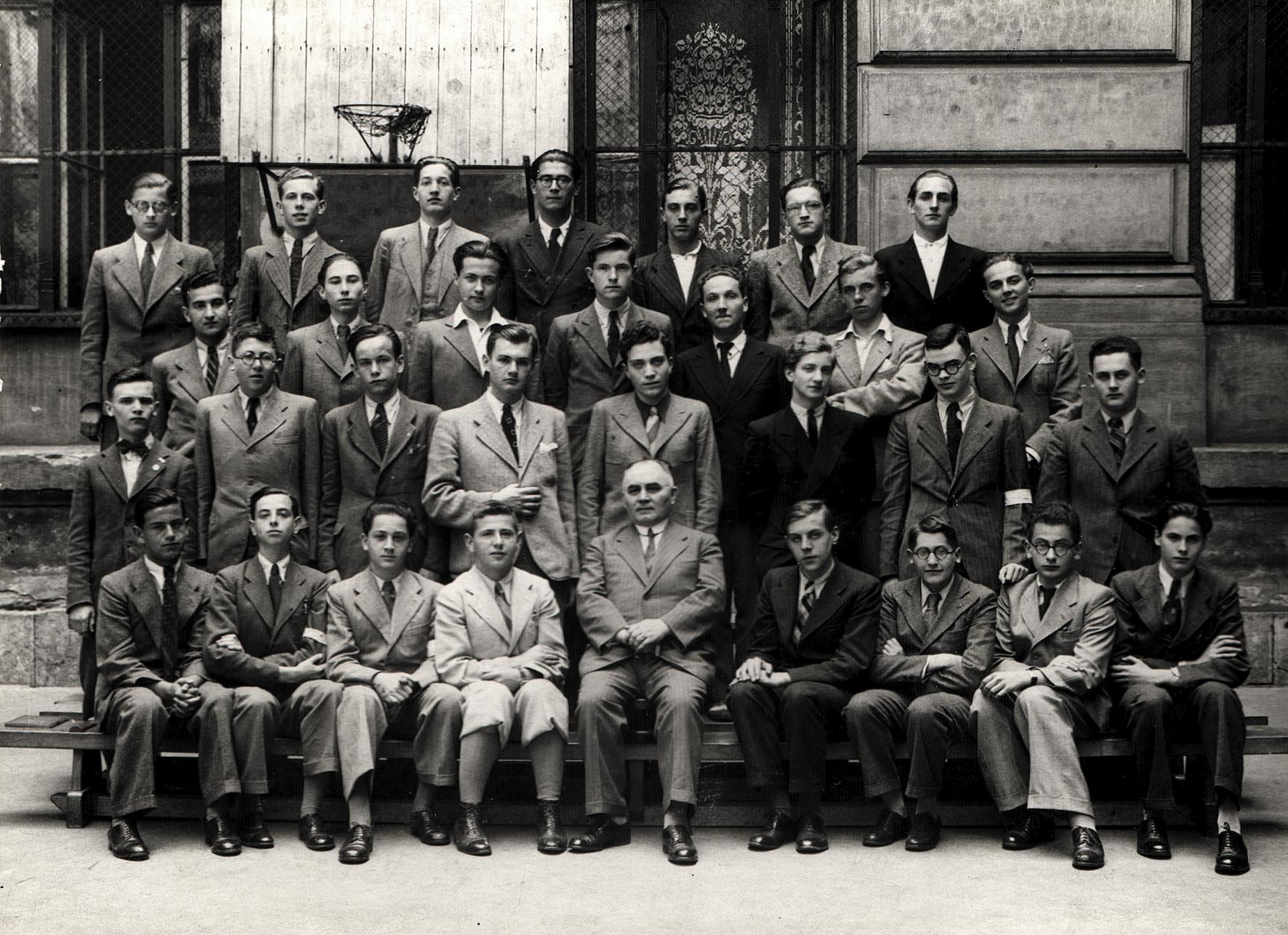 Gyorgy Preisz's class photo