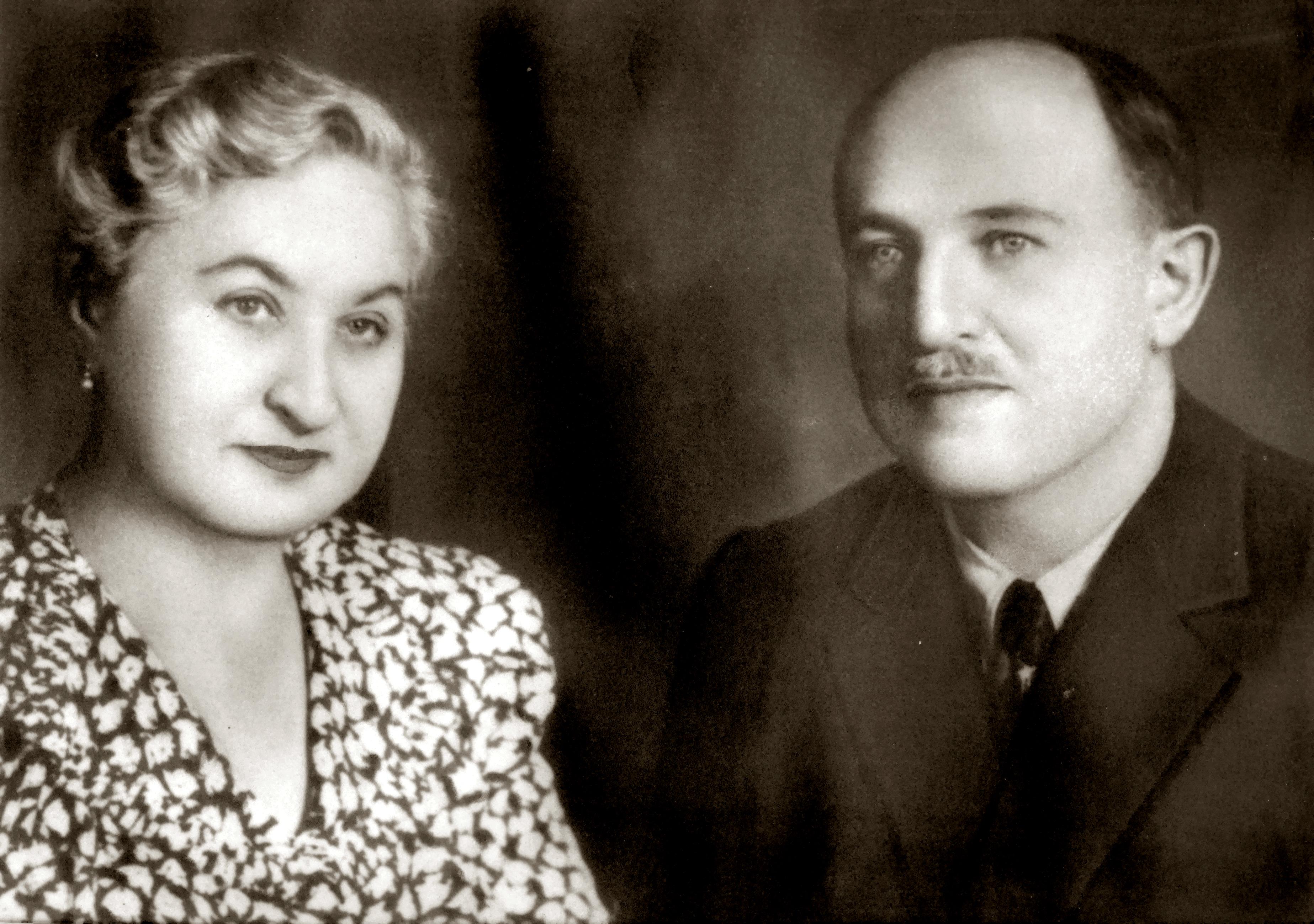 Bernard and Adela Iszakovics