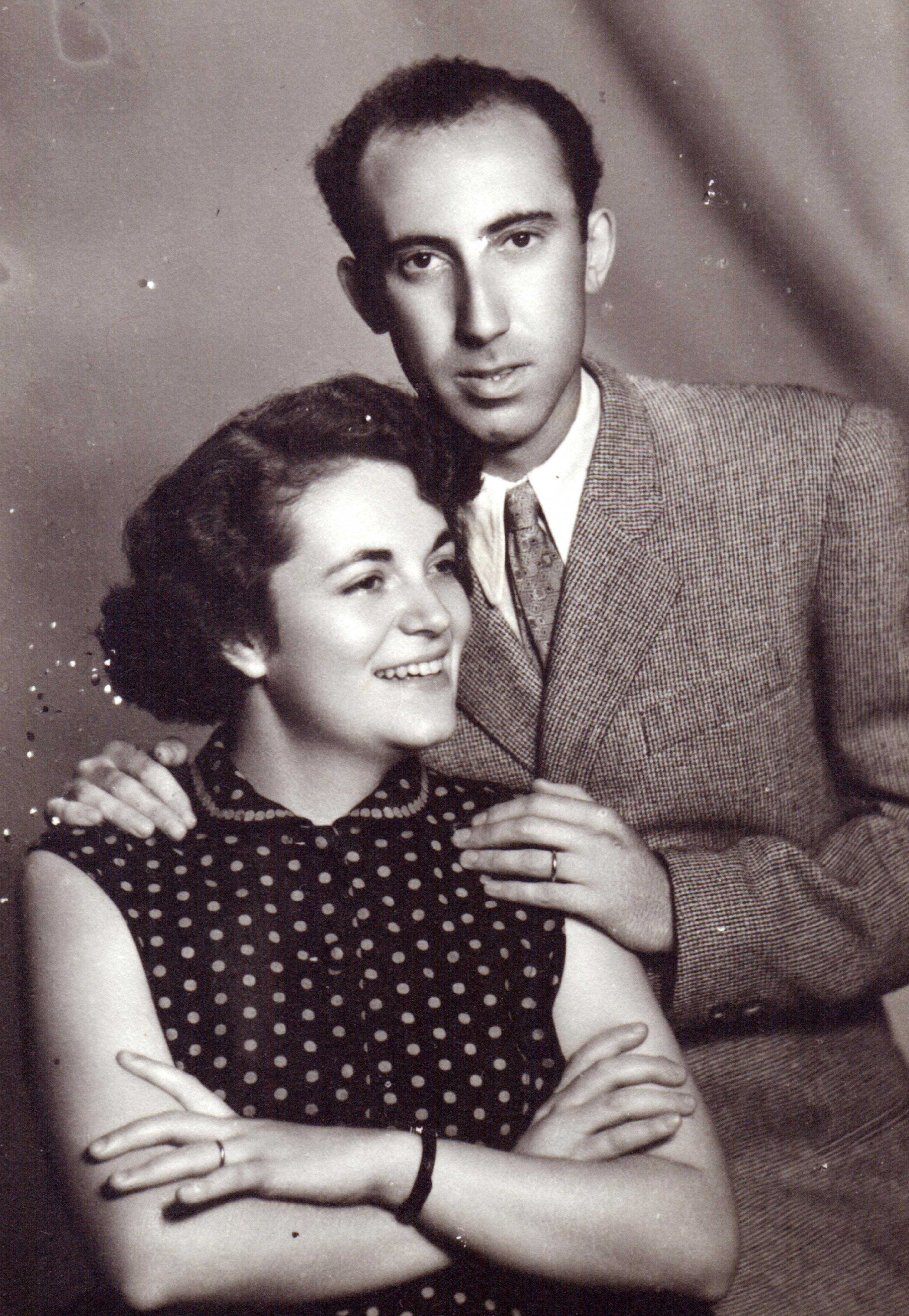 Melitta Seiler and her husband