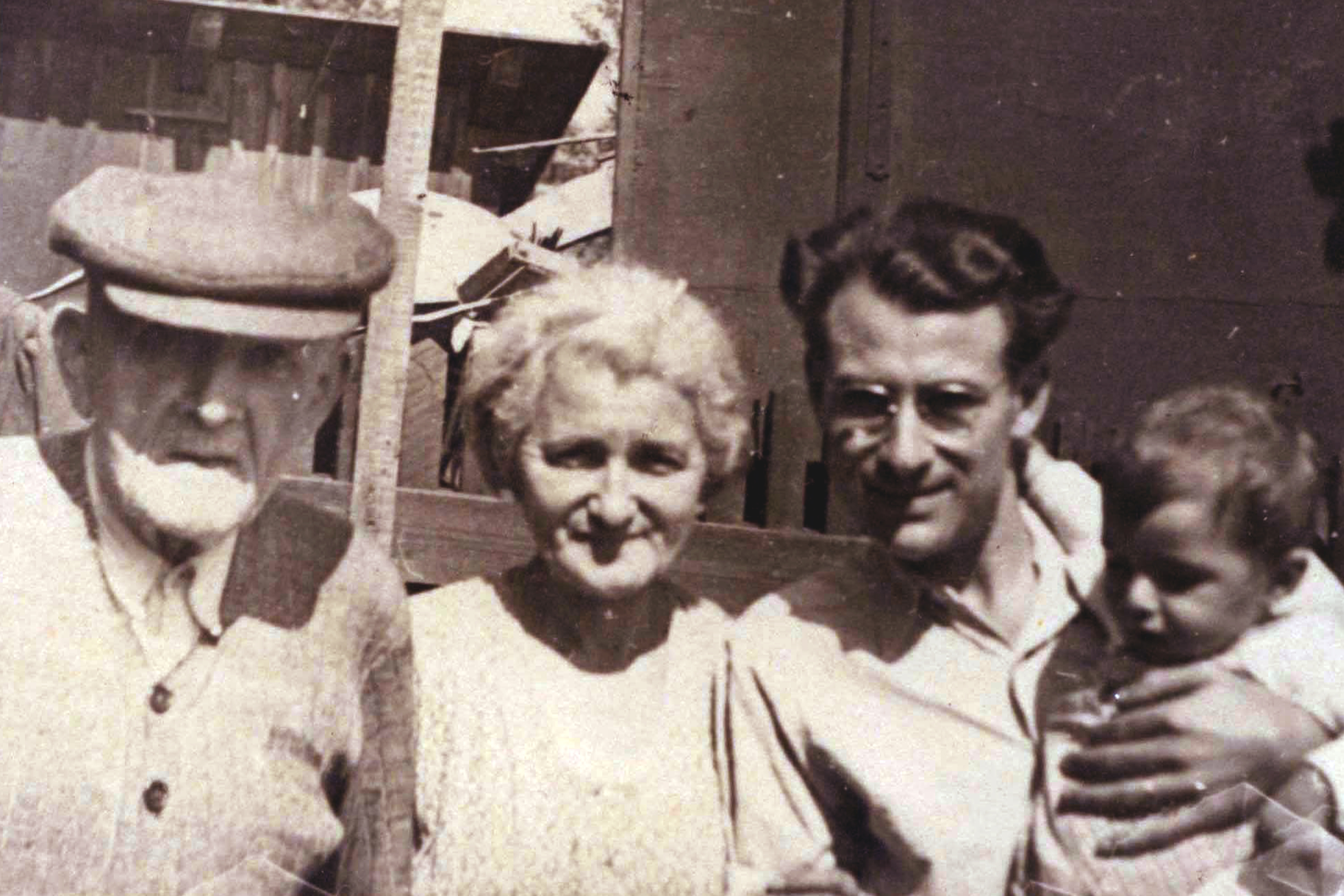 A Rosenfeld család négy generációja