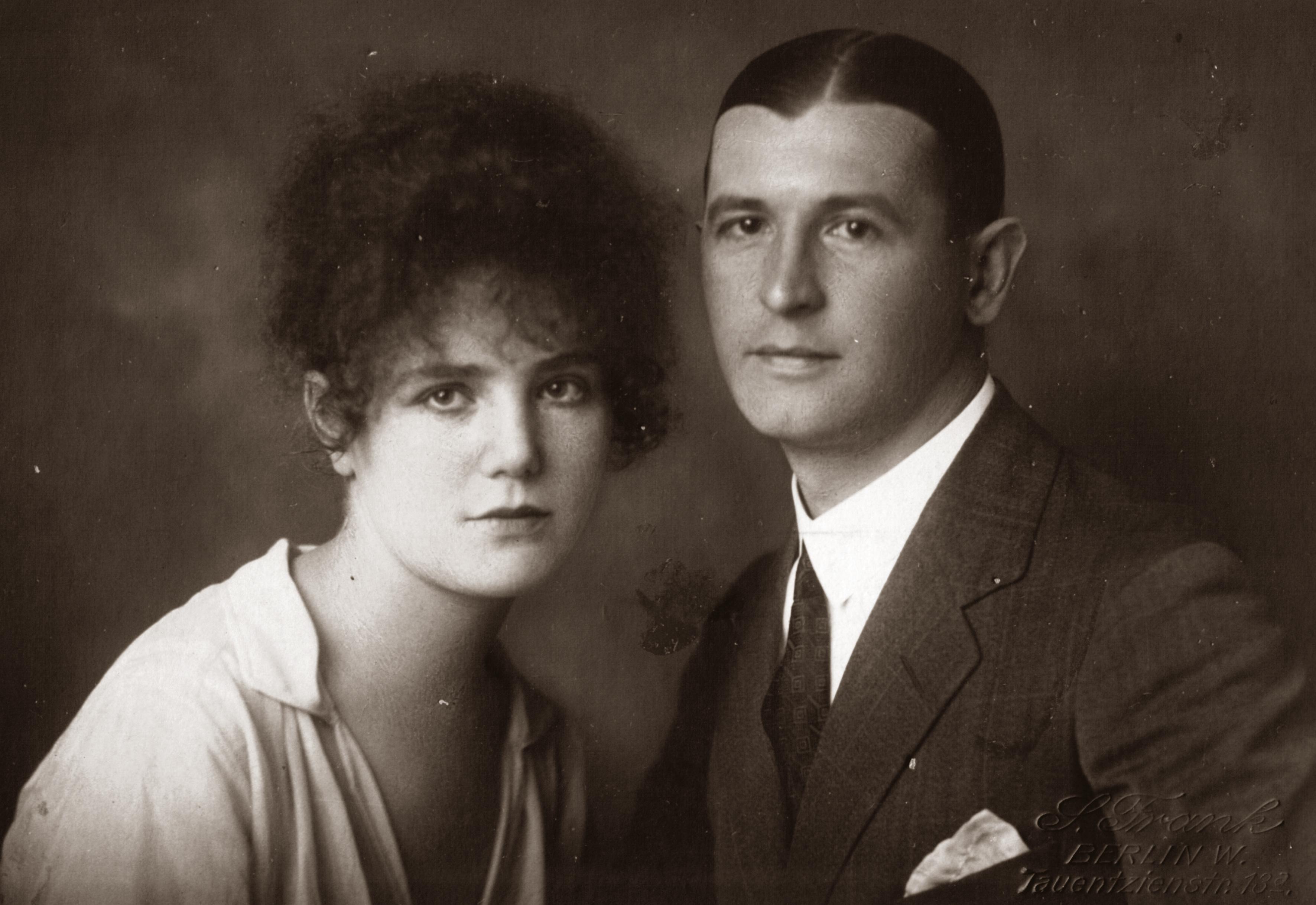 Matilda Sobolevskaya with her husband Vasiliy Sobolevskiy