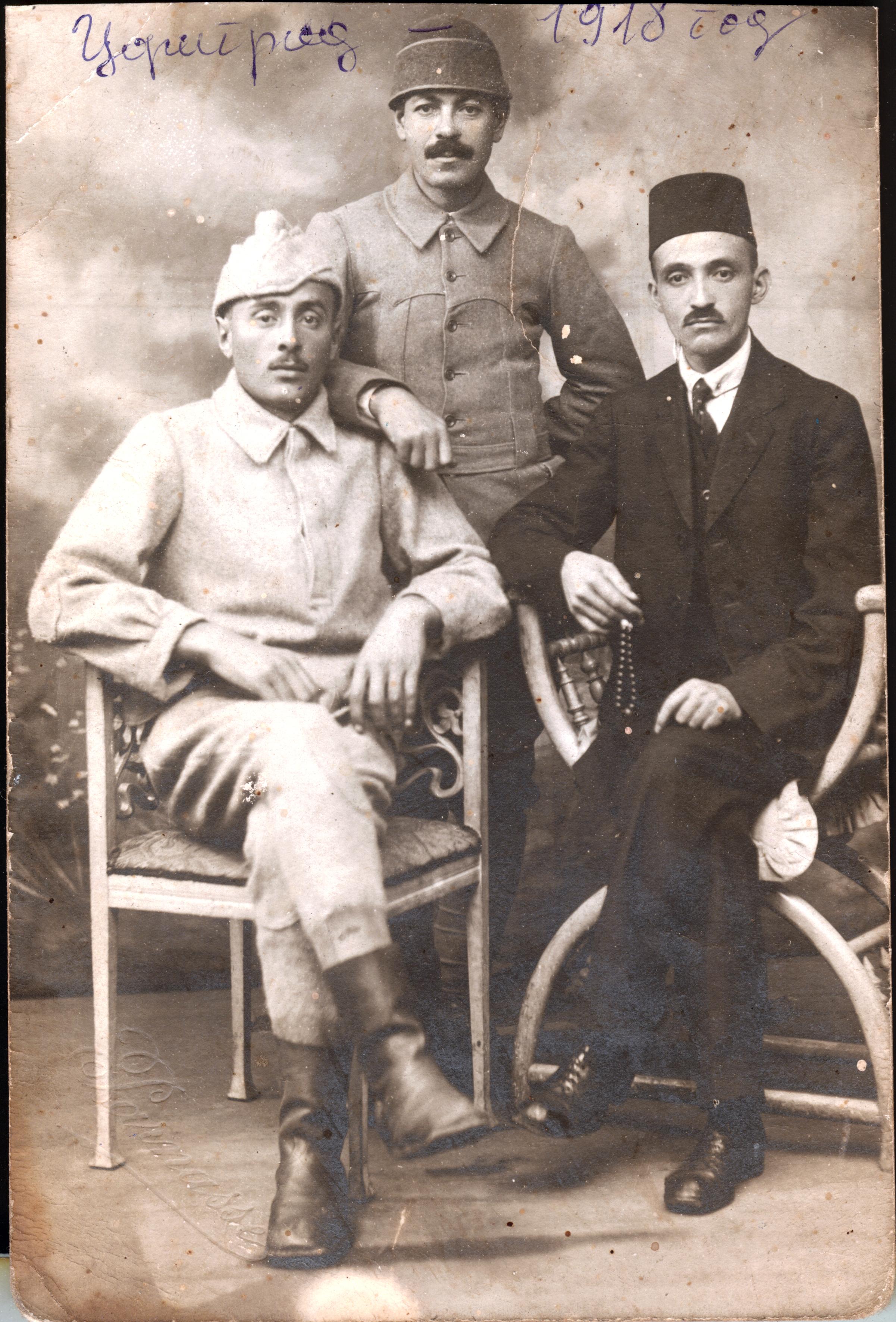 Jakov Kalef in Turkey in army uniform