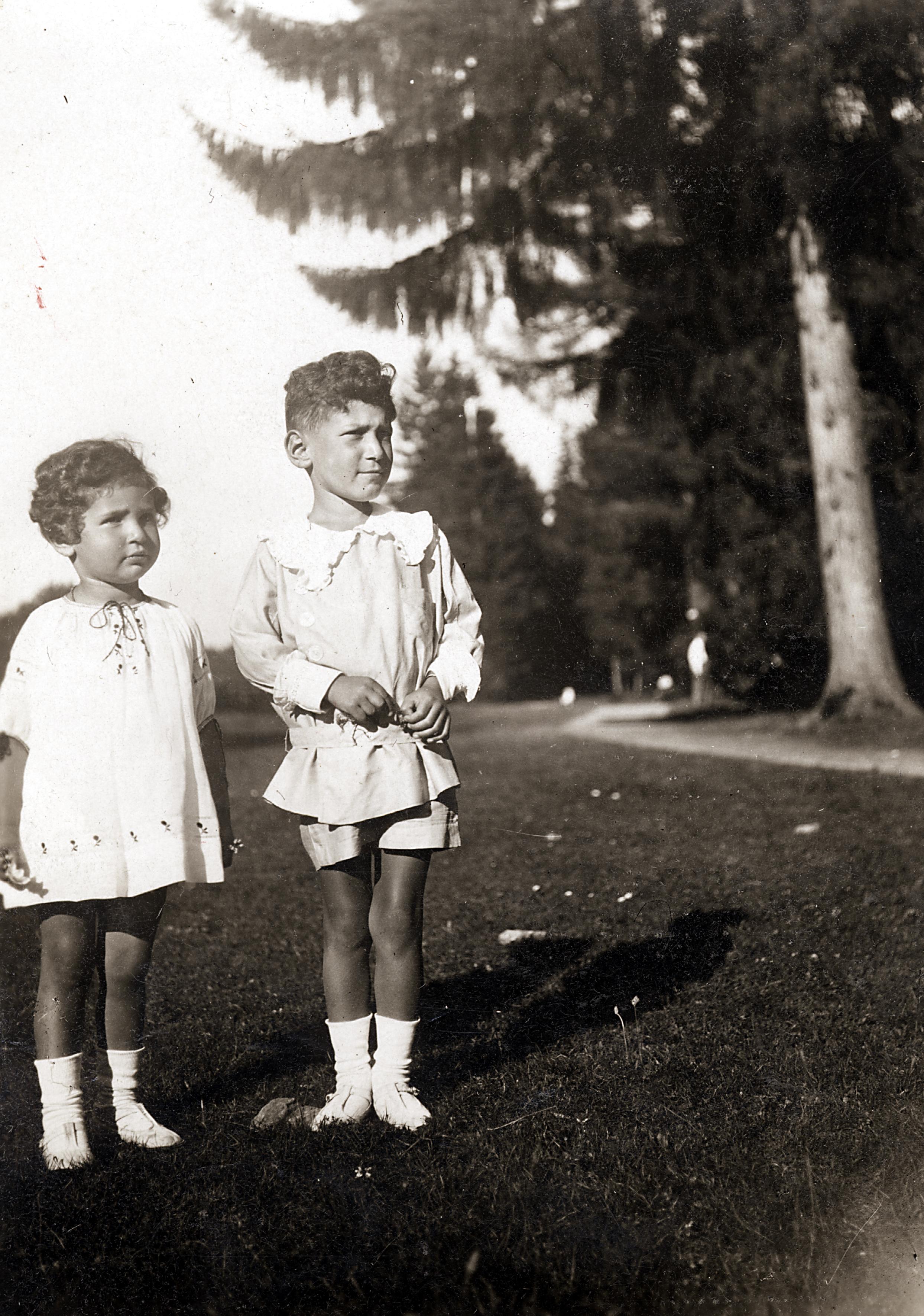 Die Geschwister Peter und Ellen Scheuer