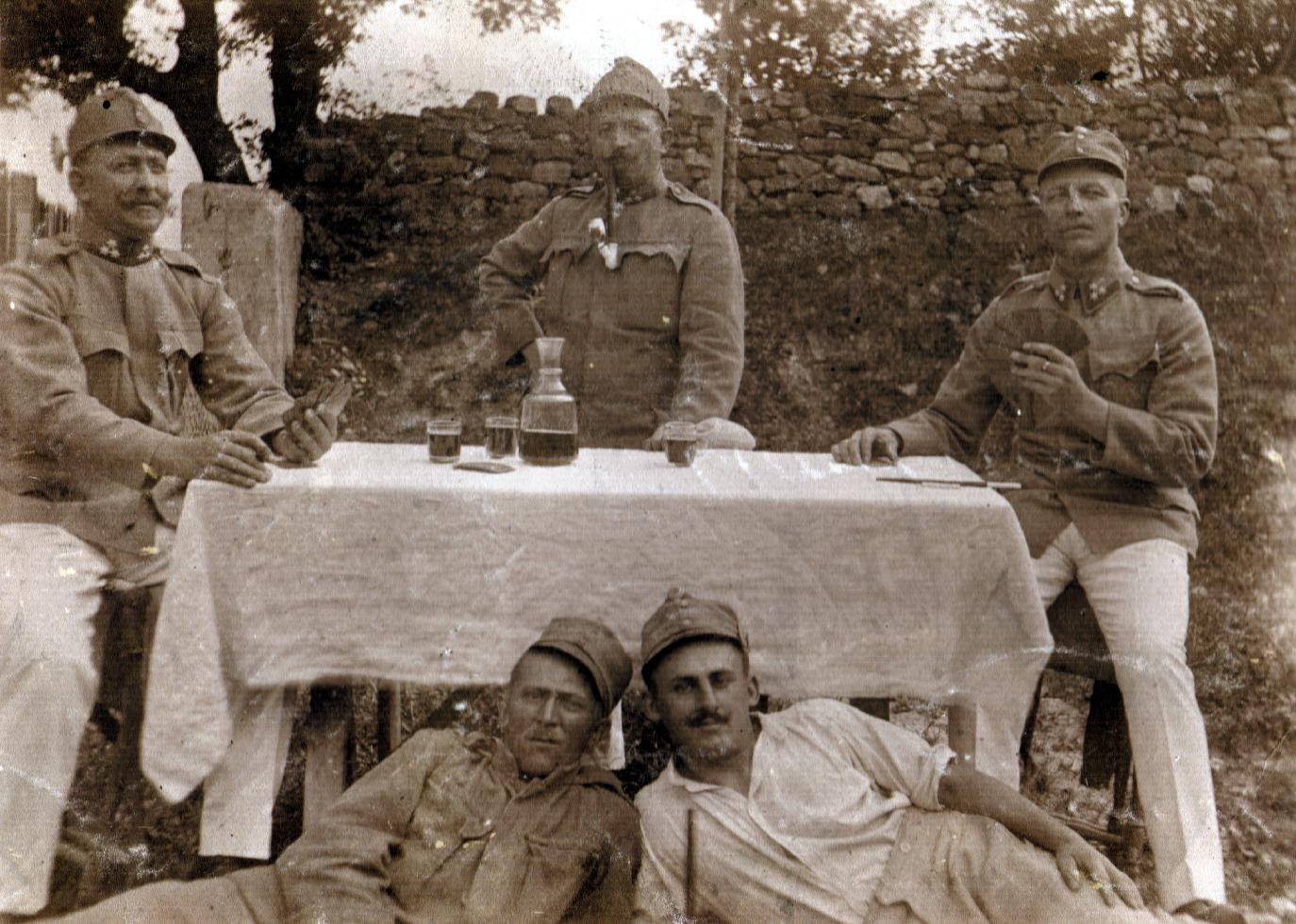 Ilona Seifert's uncle Oszkar Wollner as a soldier