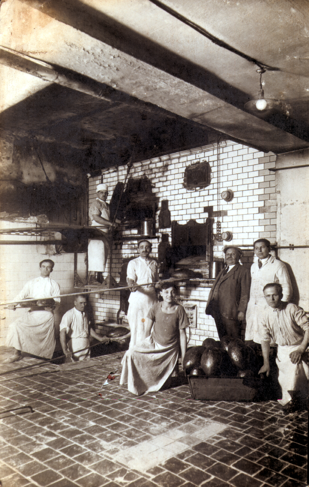 The bakery of Ilona Seifert's paternal grandfather Bernat Riemer