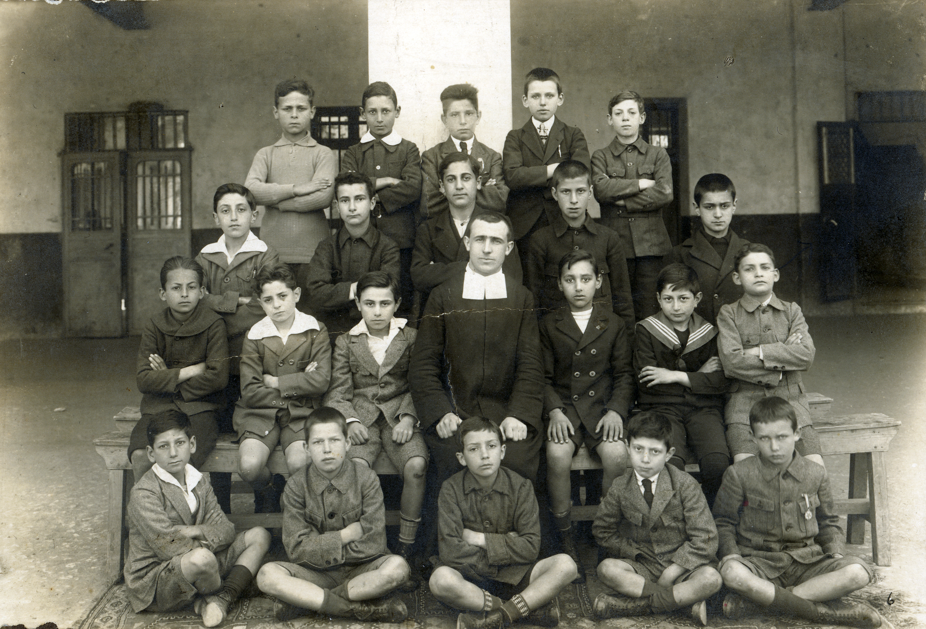 Eli Perahya at Saint Louis High School