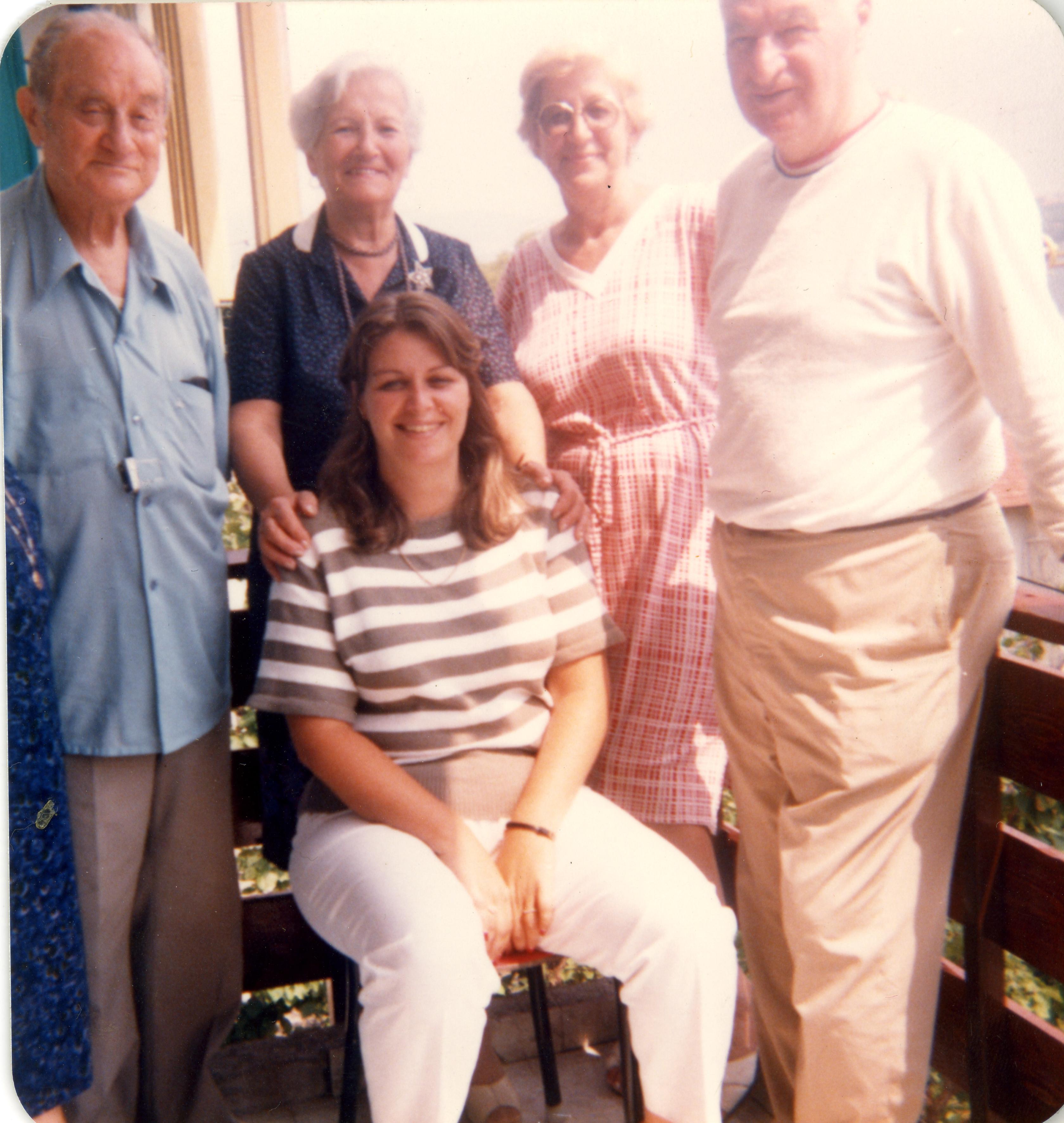 Avni Tuncer's family