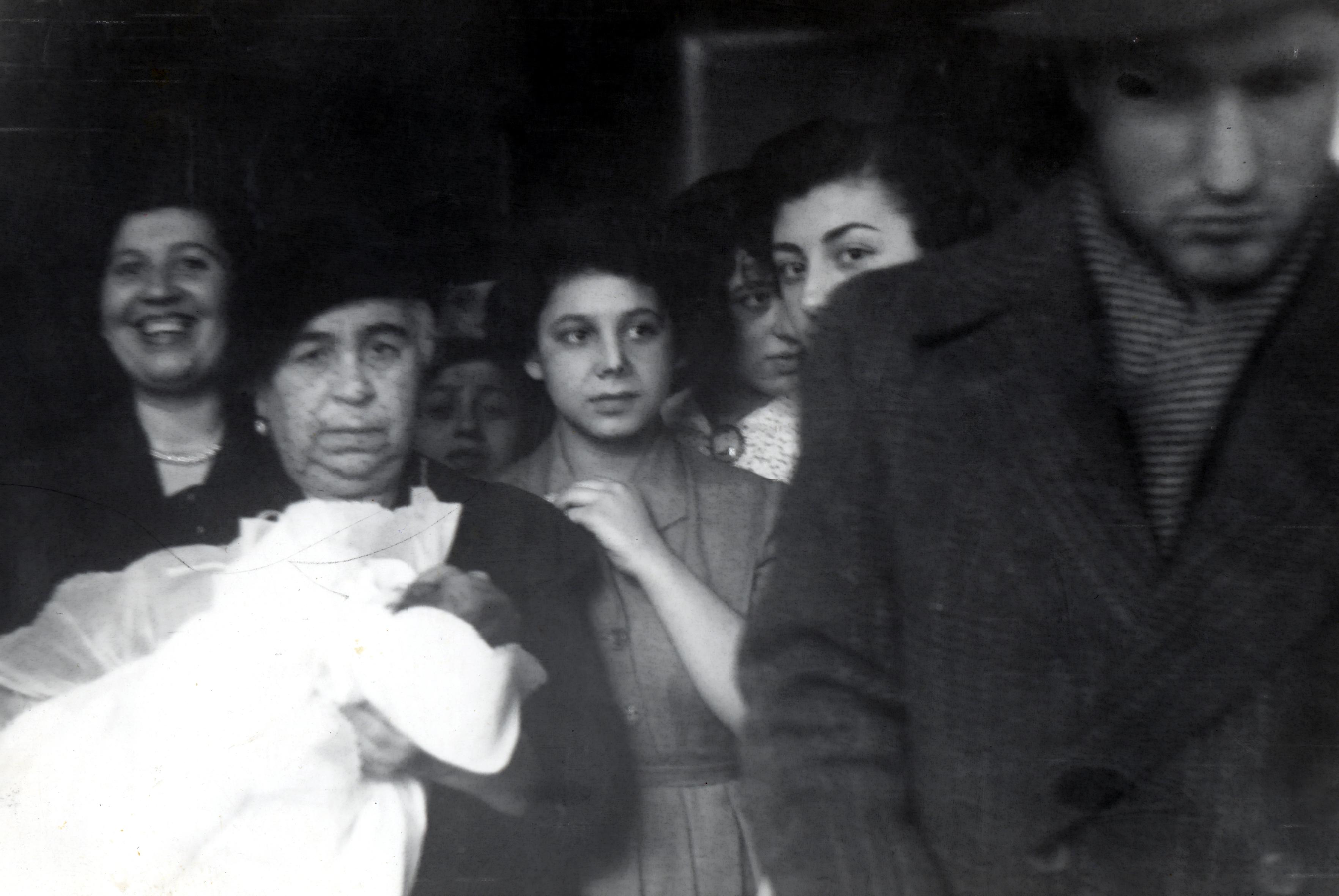 Feride Bozo at a circumcision ceremony