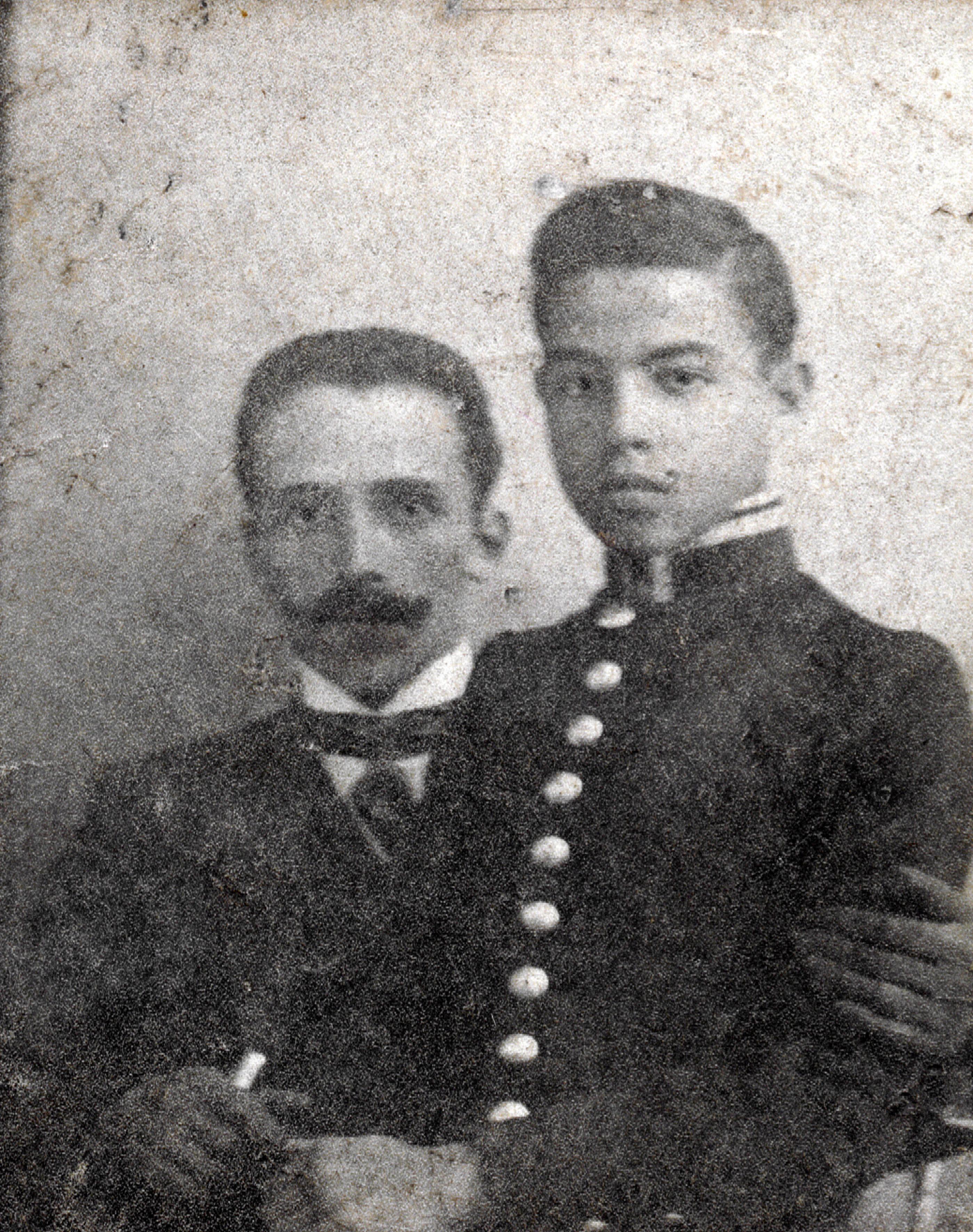 Naum Fabrikant and his son Yefim Fabrikant