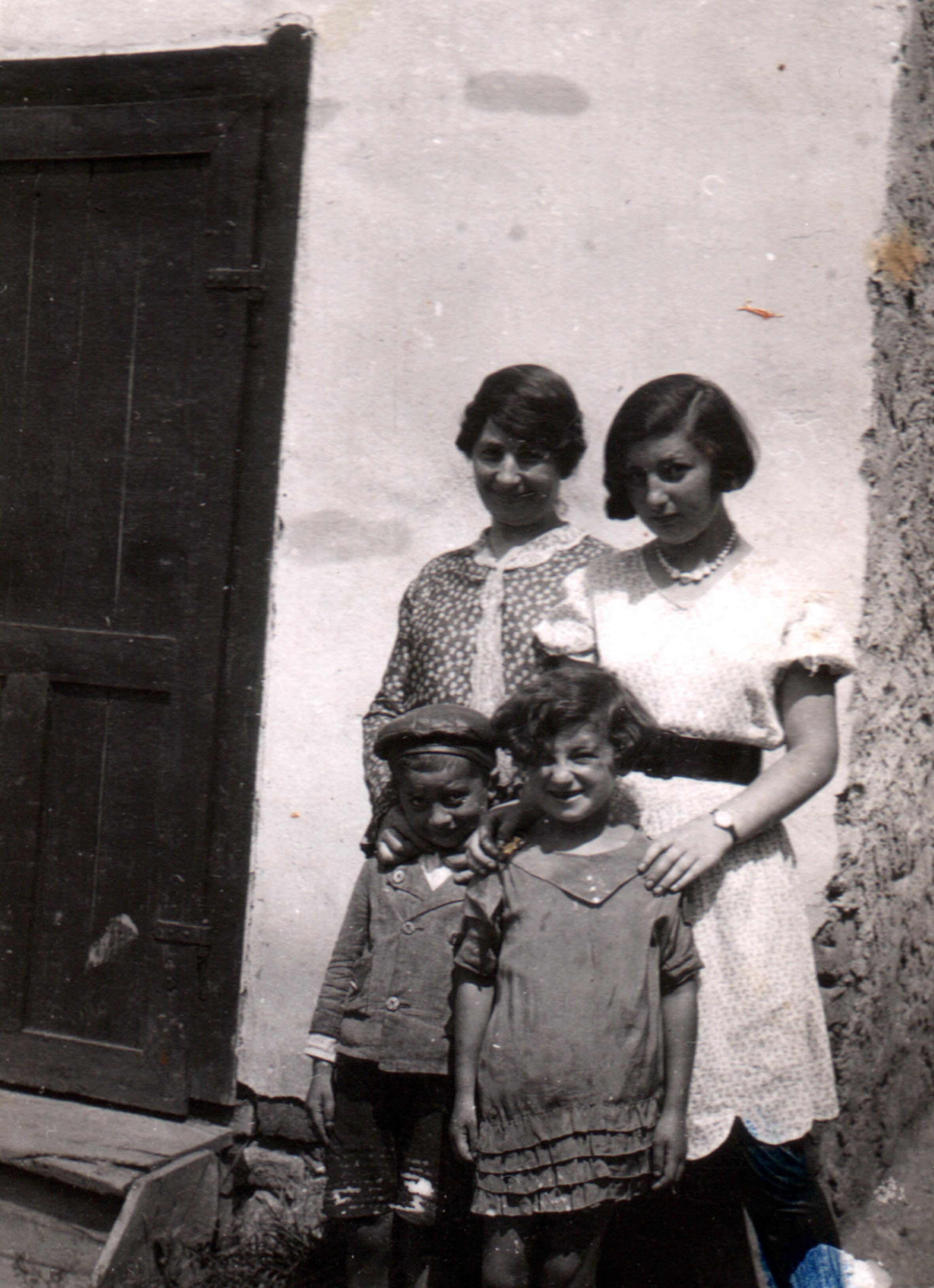 Tilda  Galpert with her family