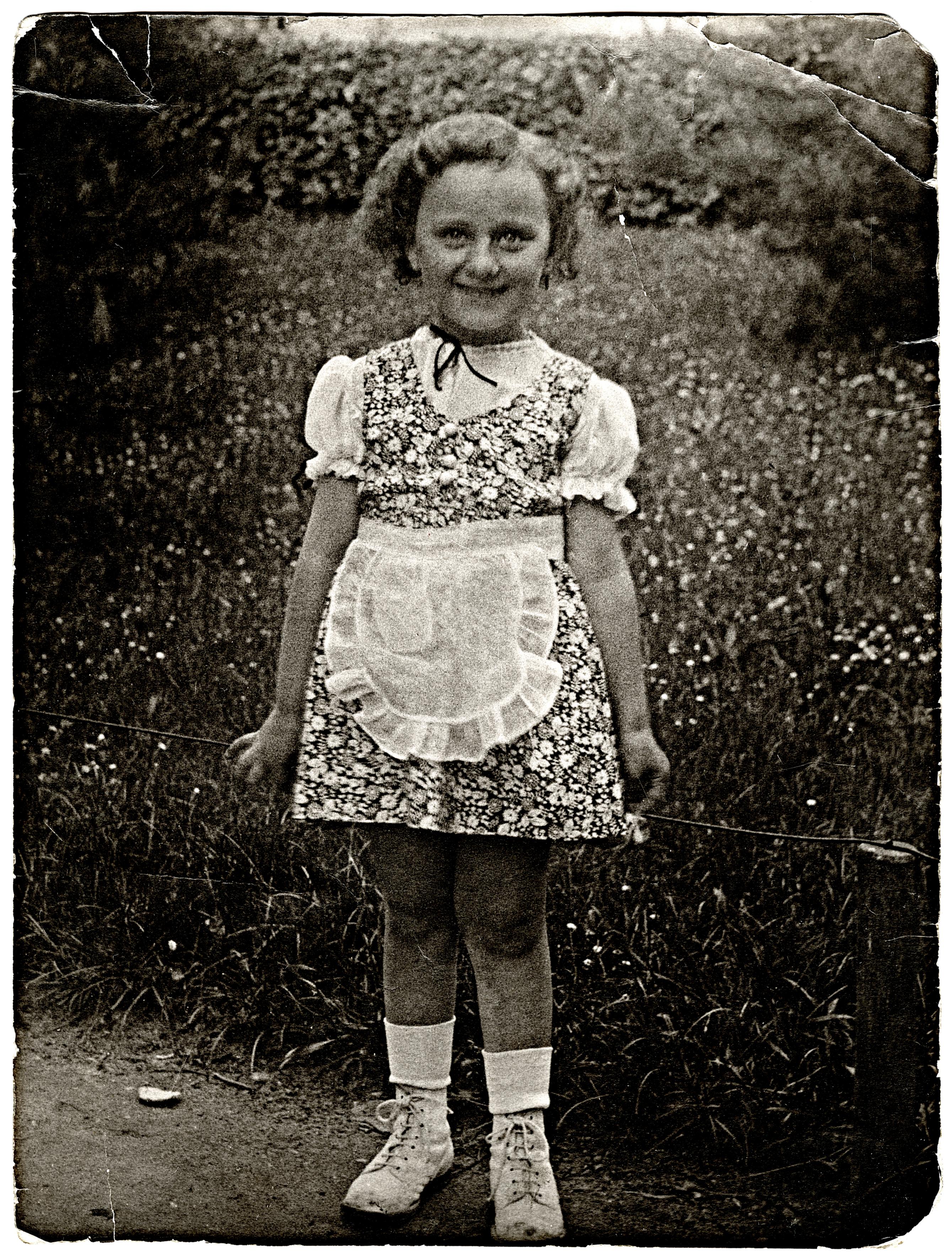Kemény Andrásné ötévesen