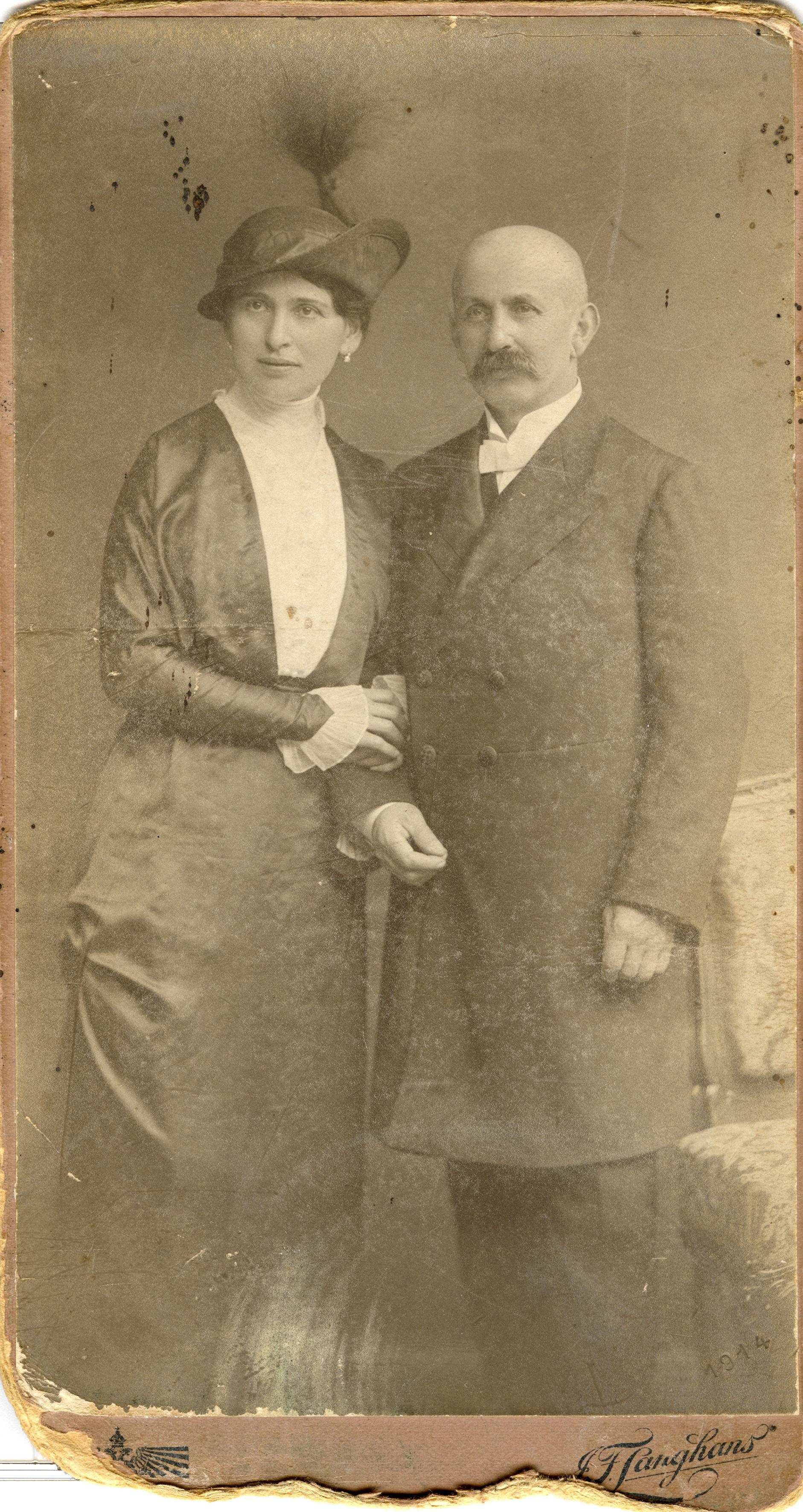 Emanuel and Marie Novak