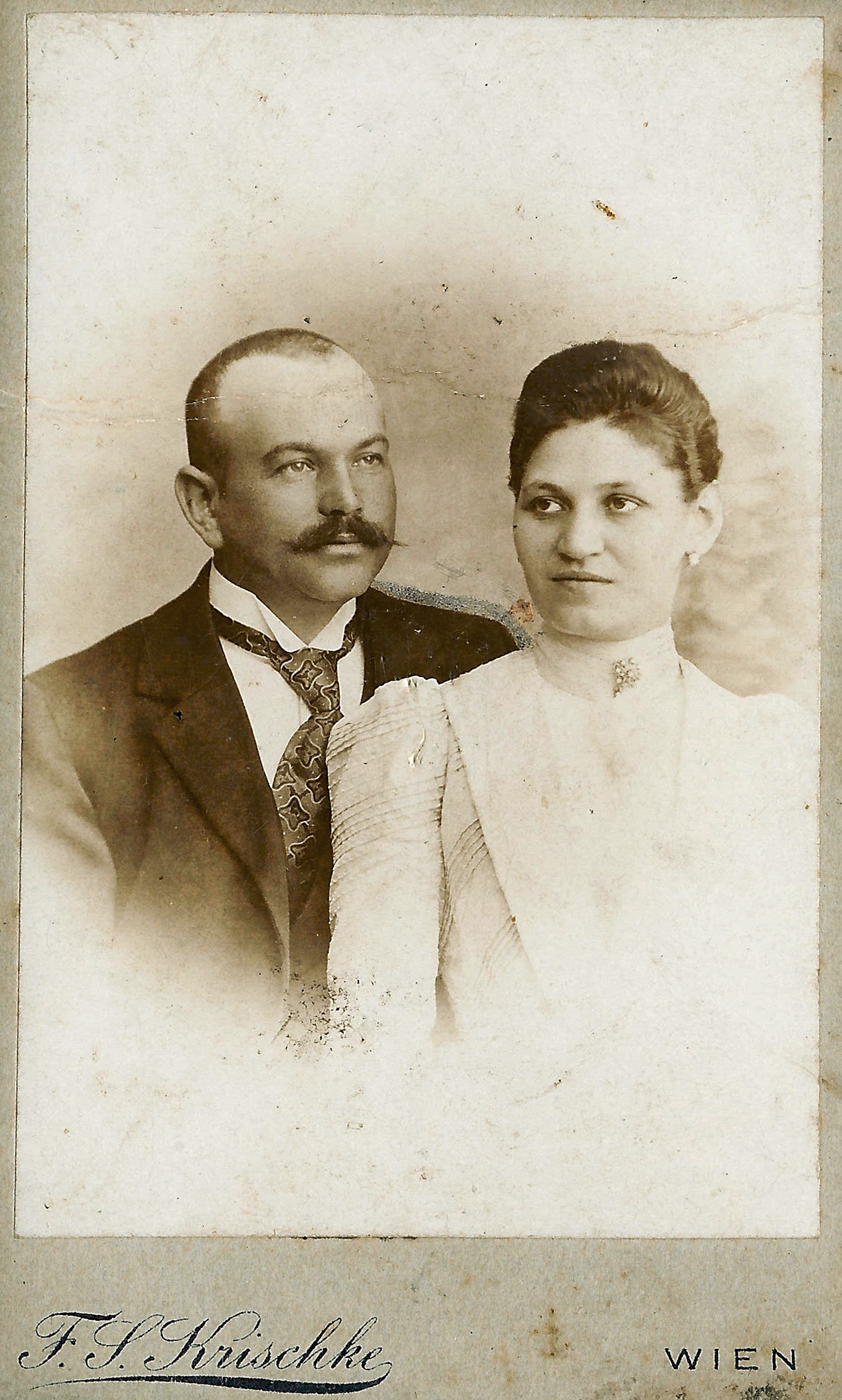 Gustav Abeles and Adela Abelesova