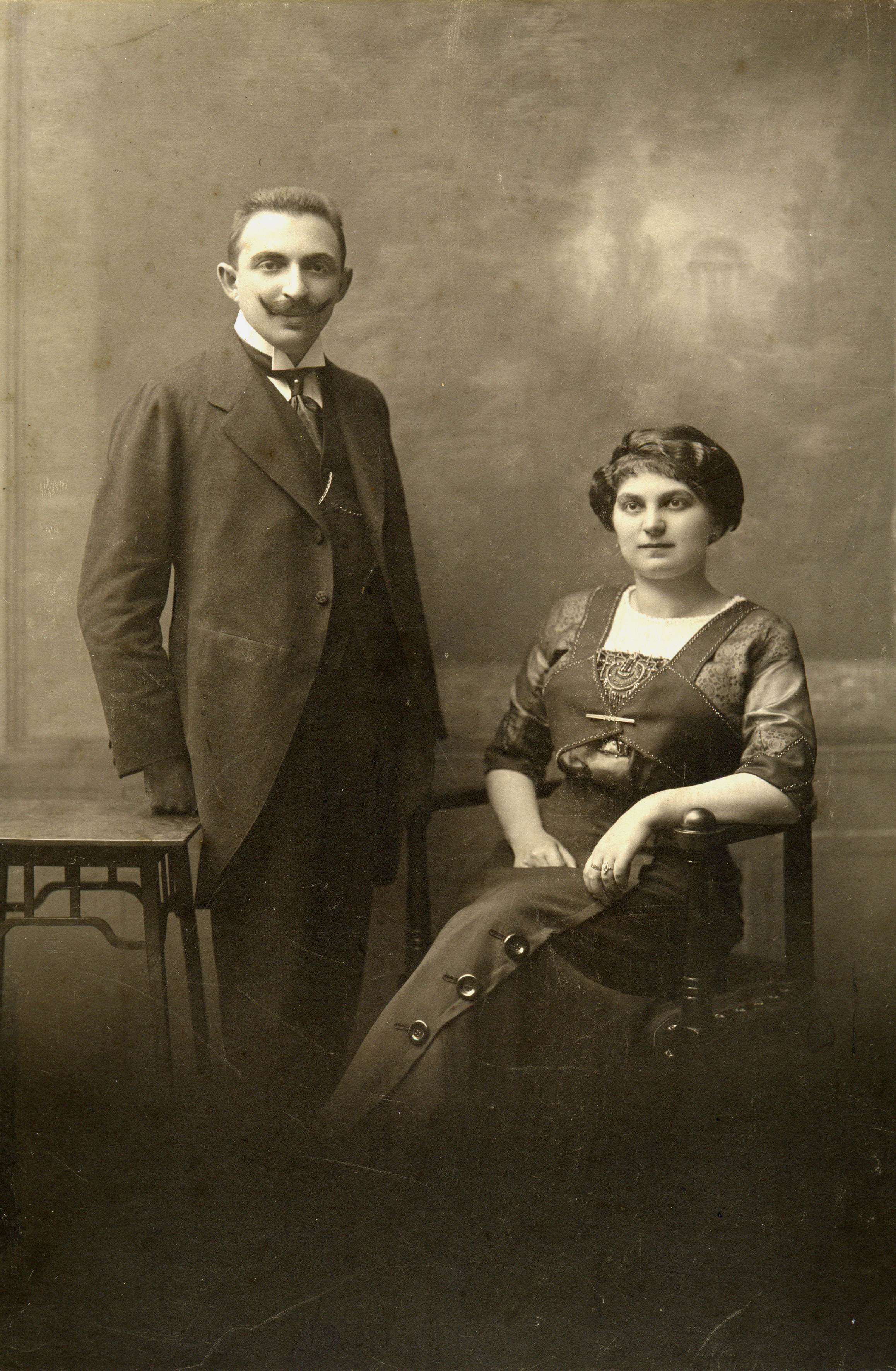 Arnost Brod and his wife Olga