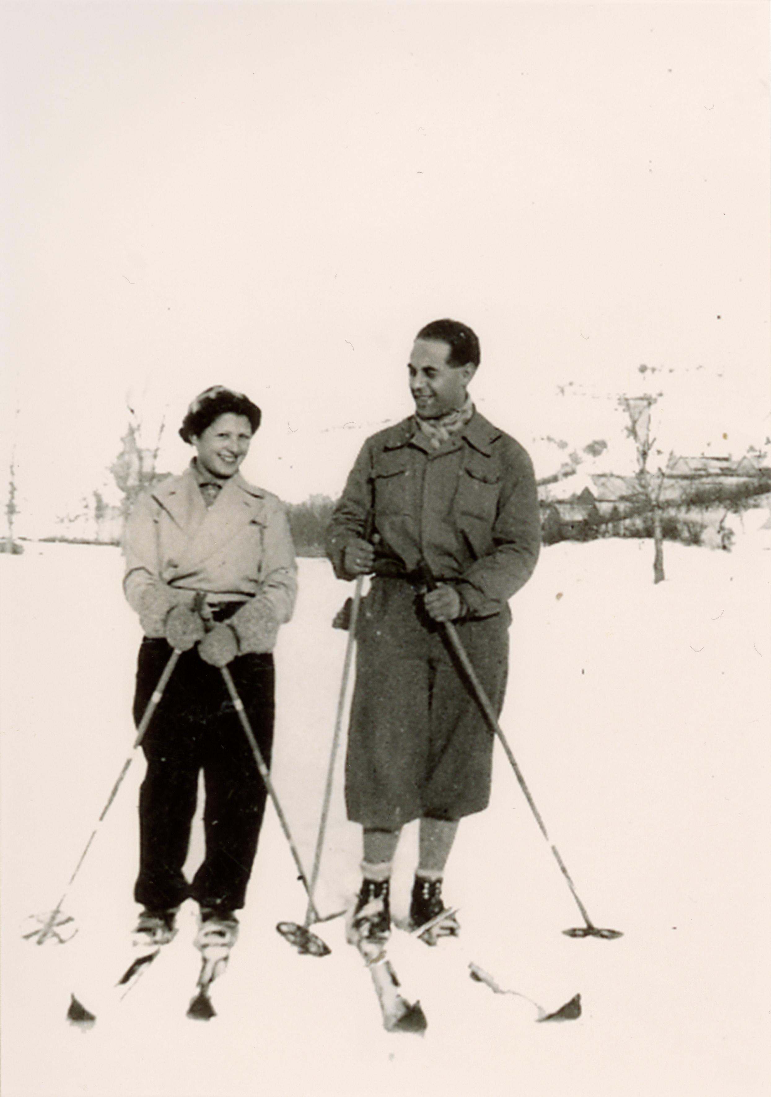 Hétvégi síelés a Sváb-hegyen