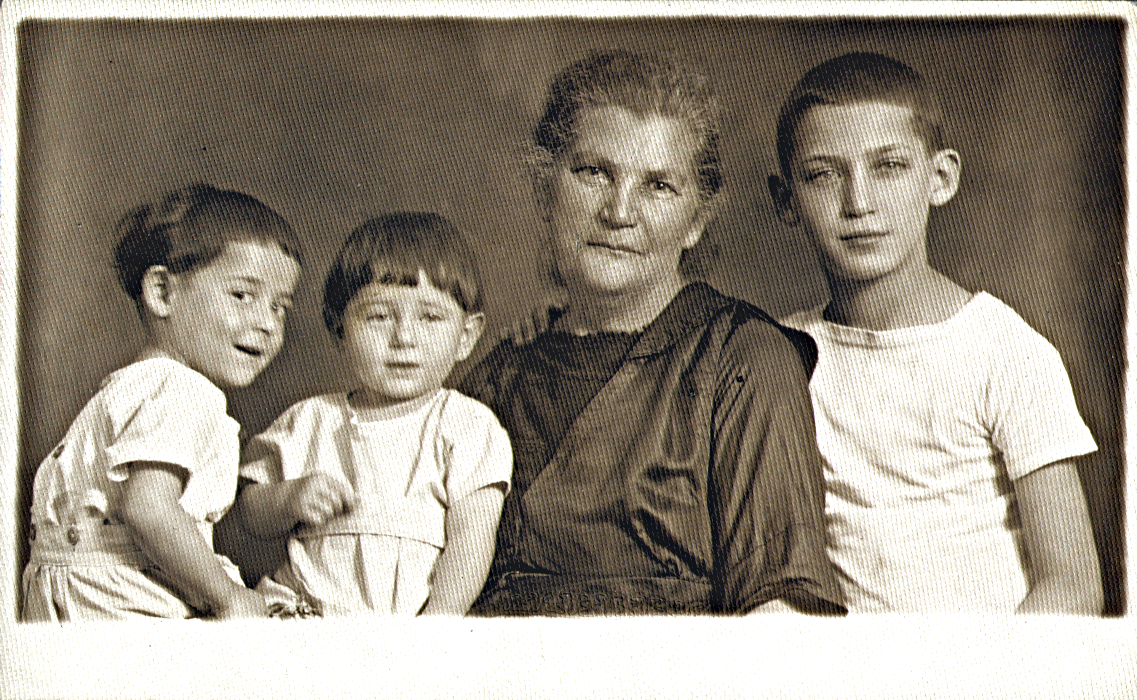 Weitzner Salamonné unokáival