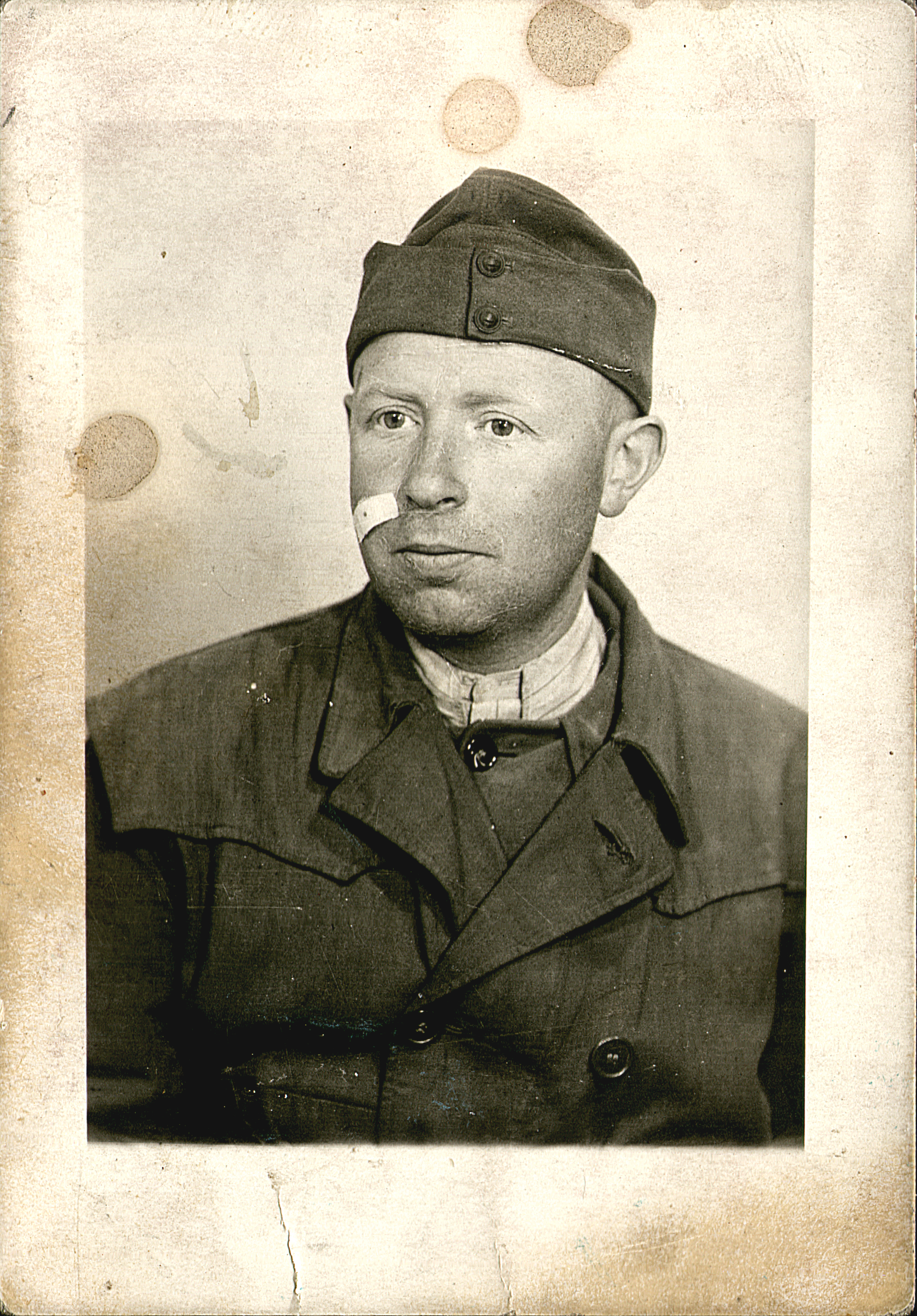 Erno Szabados in  forced labor work service