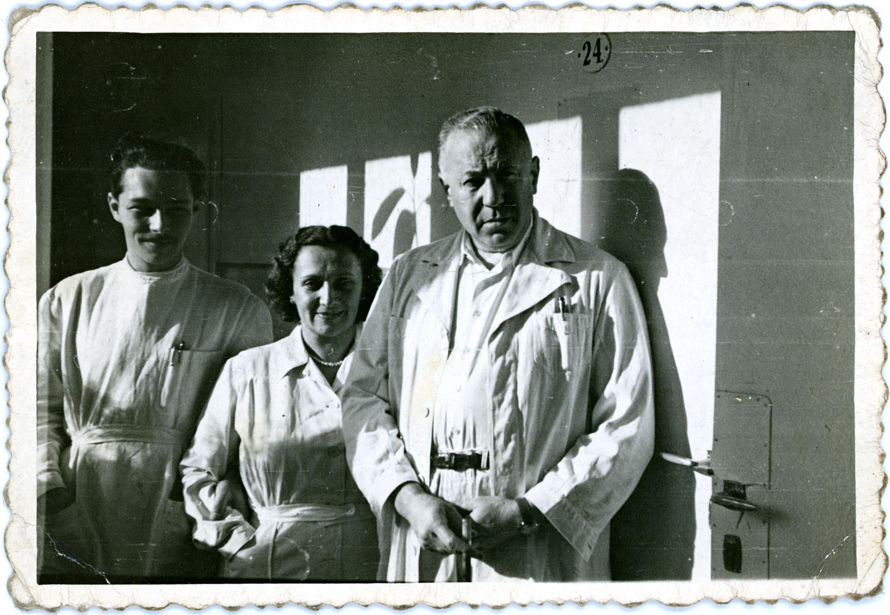 Menczel János a pozsonyi zsidó kórházban