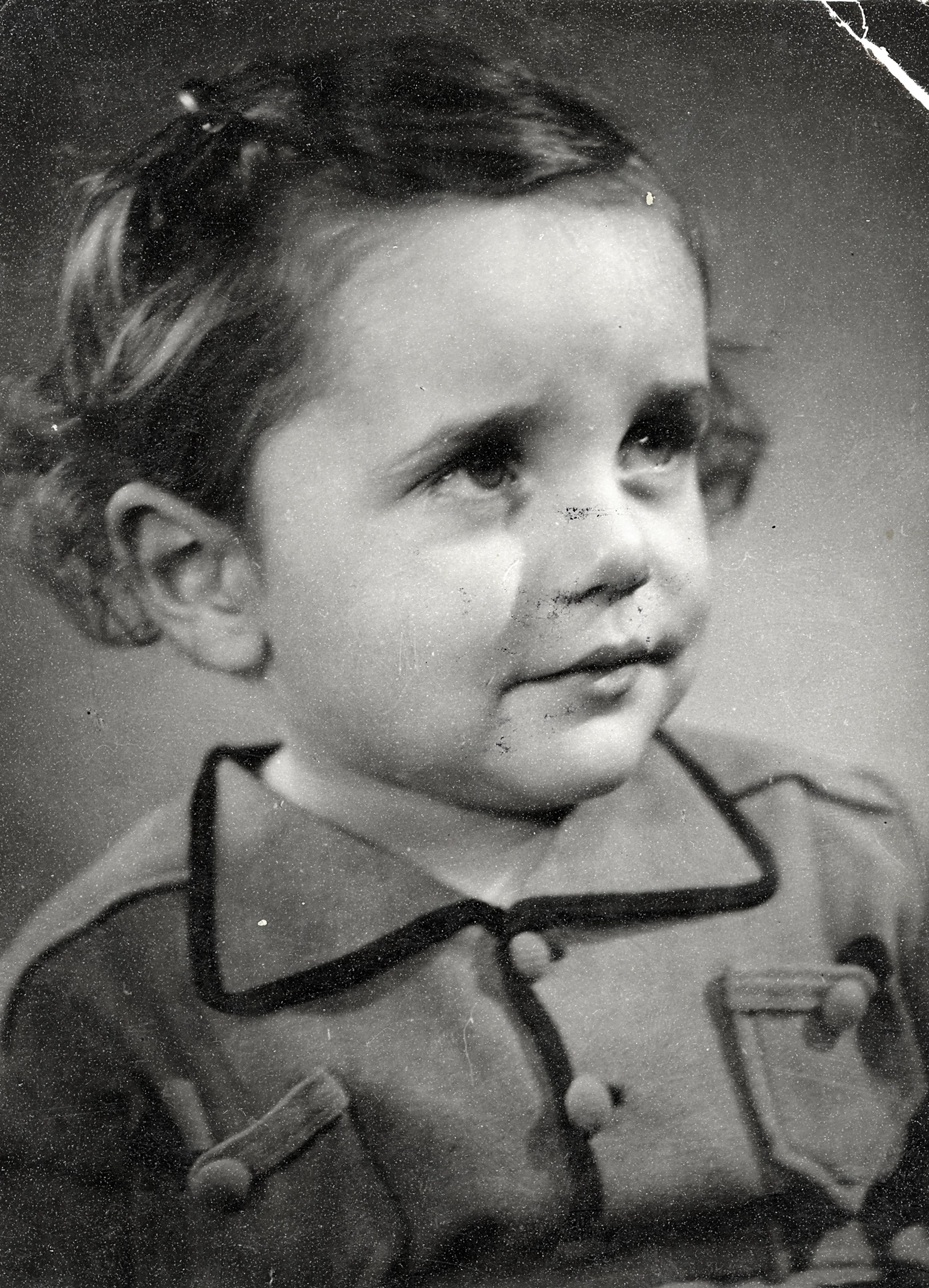 Engelmann Kornélia gyermekként