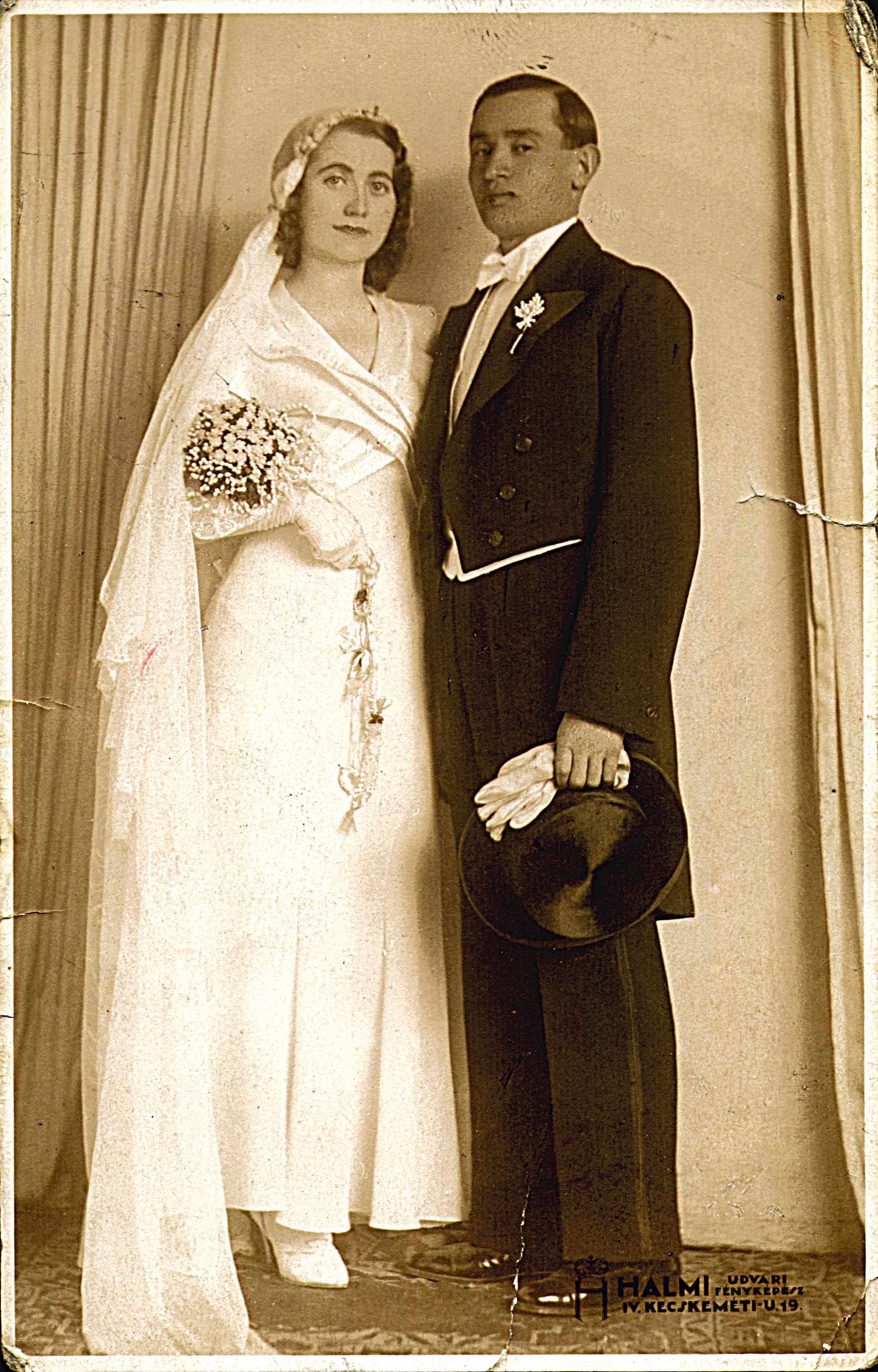 Wedding photo of Etel Schneller