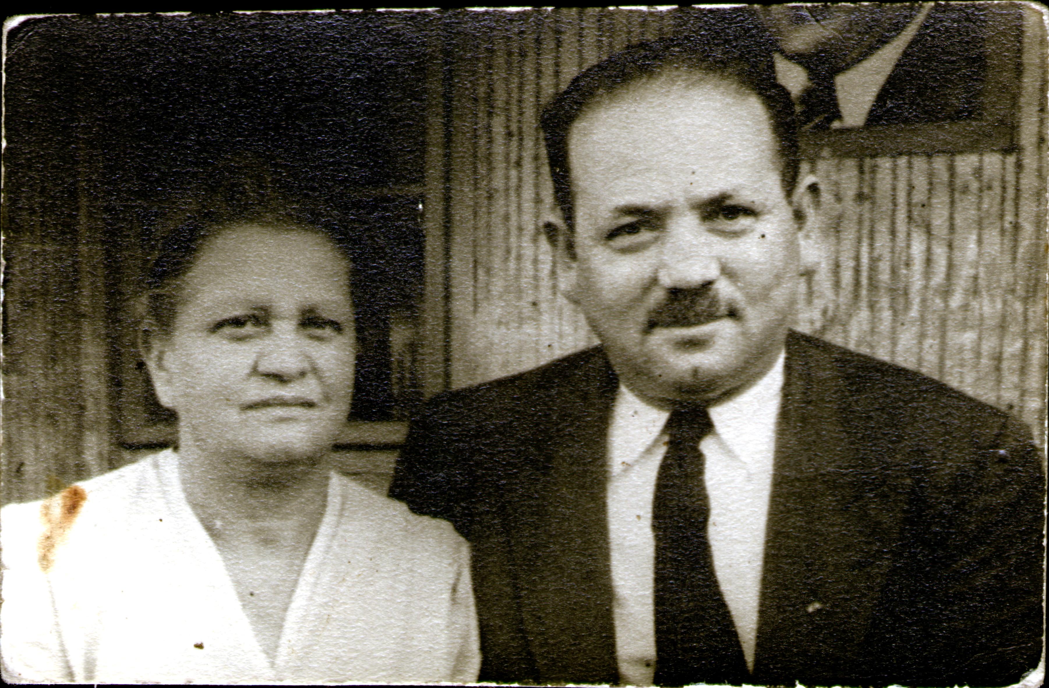F. Ignác és felesége