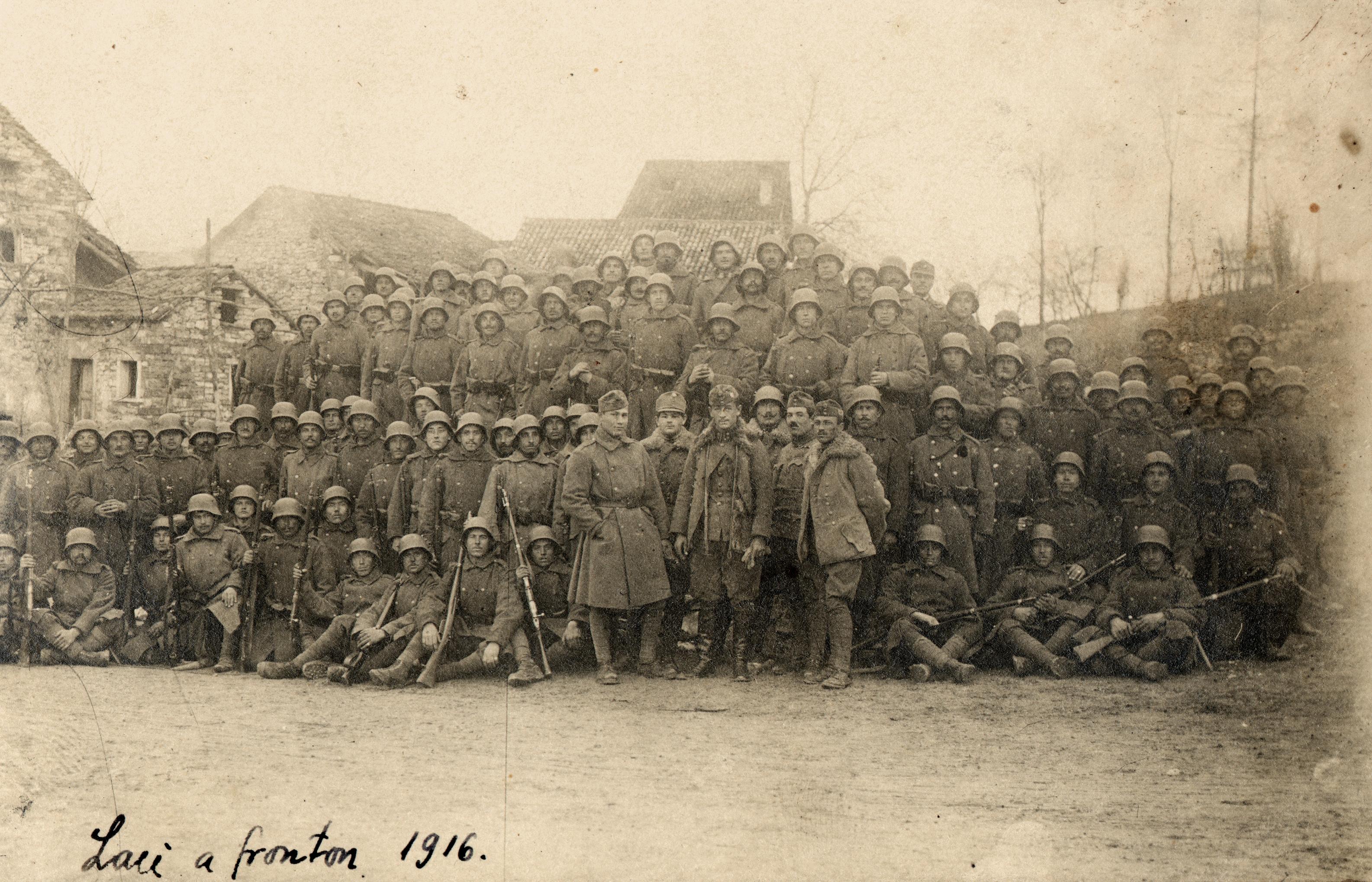 Laszlo Nussbaum on the battlefield